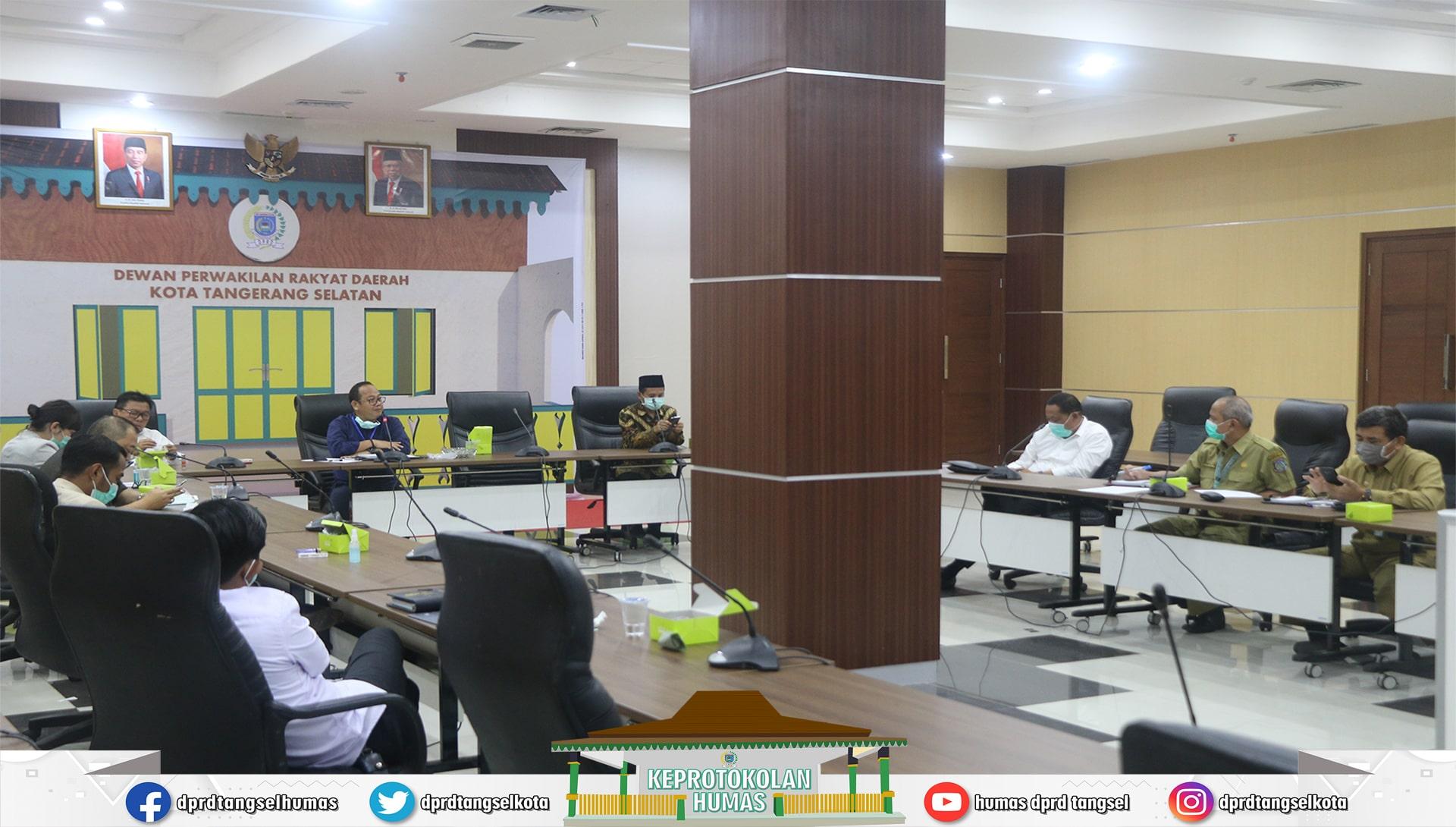 Rapat Kerja Pimpinan DPRD Pembentukan Pansus LKPJ Walikota Tahun 2019