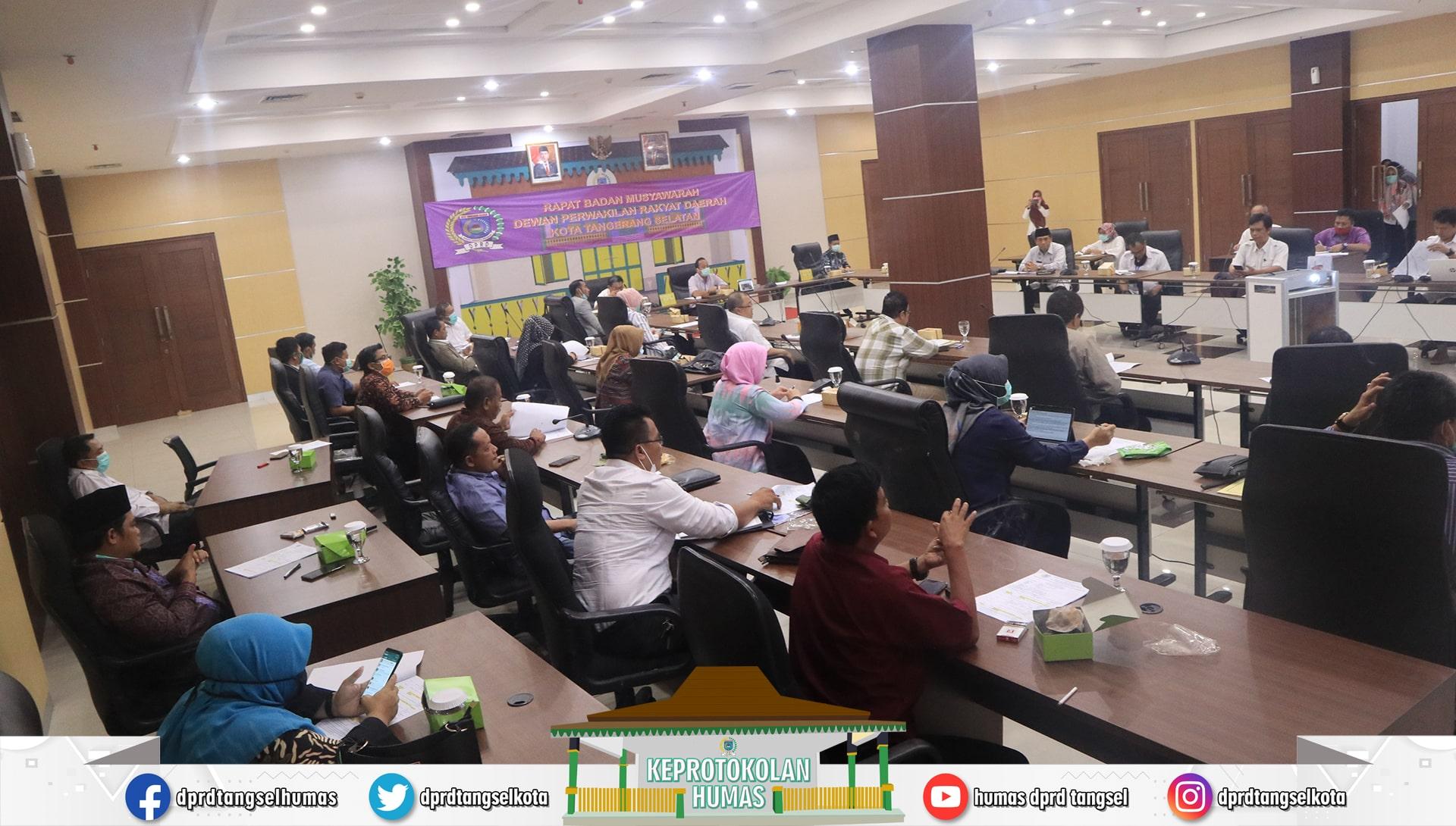 DPRD Tangsel melaksanakan Rapat Badan Musyawarah