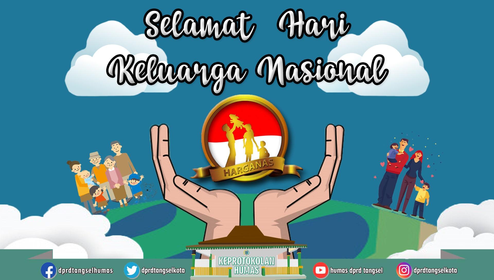 Selamat memperingati Hari Keluarga Nasional