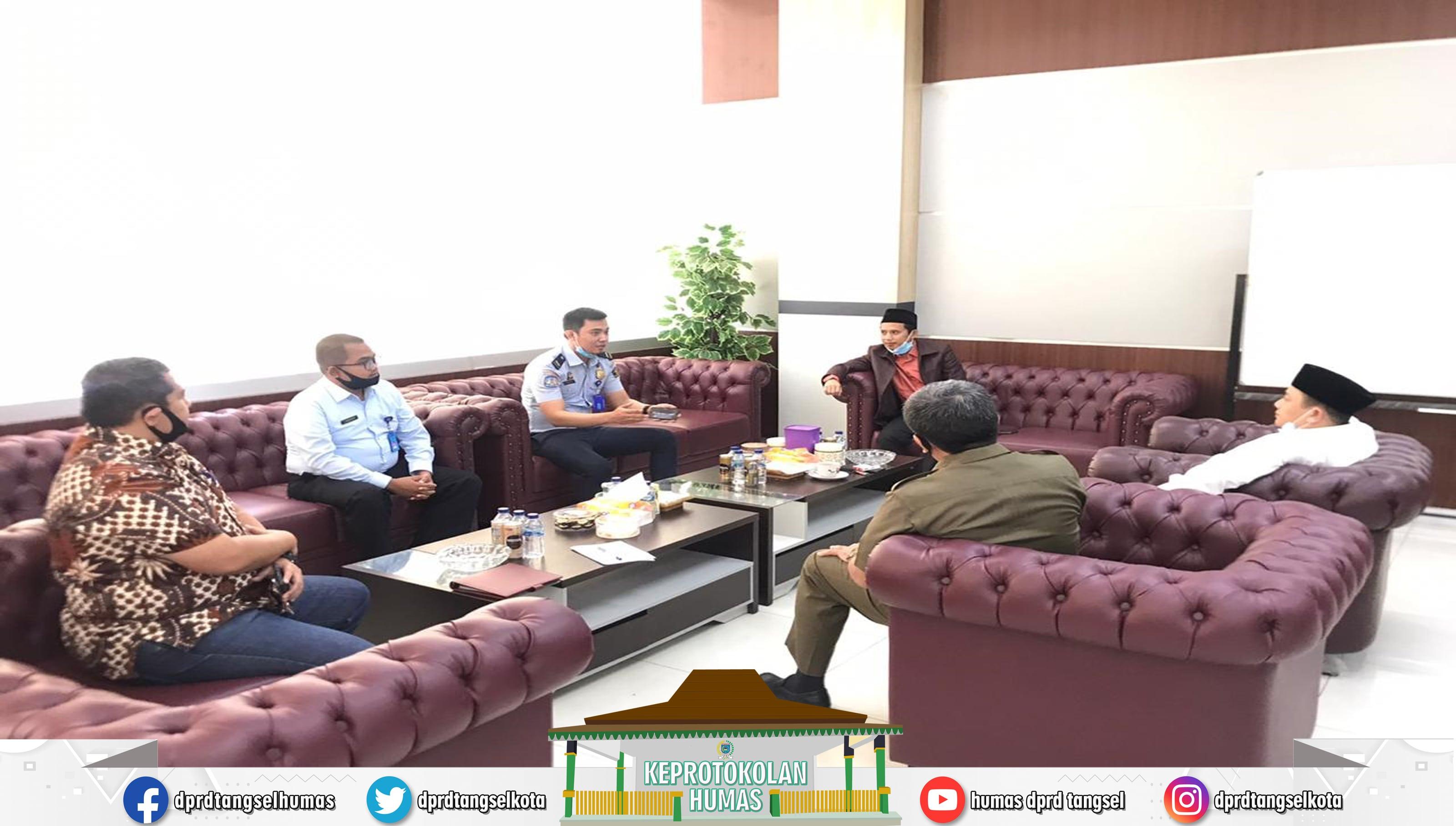 Pimpinan DPRD menerima Kunker dari Kantor Imigrasi Kelas 1 Tangerang