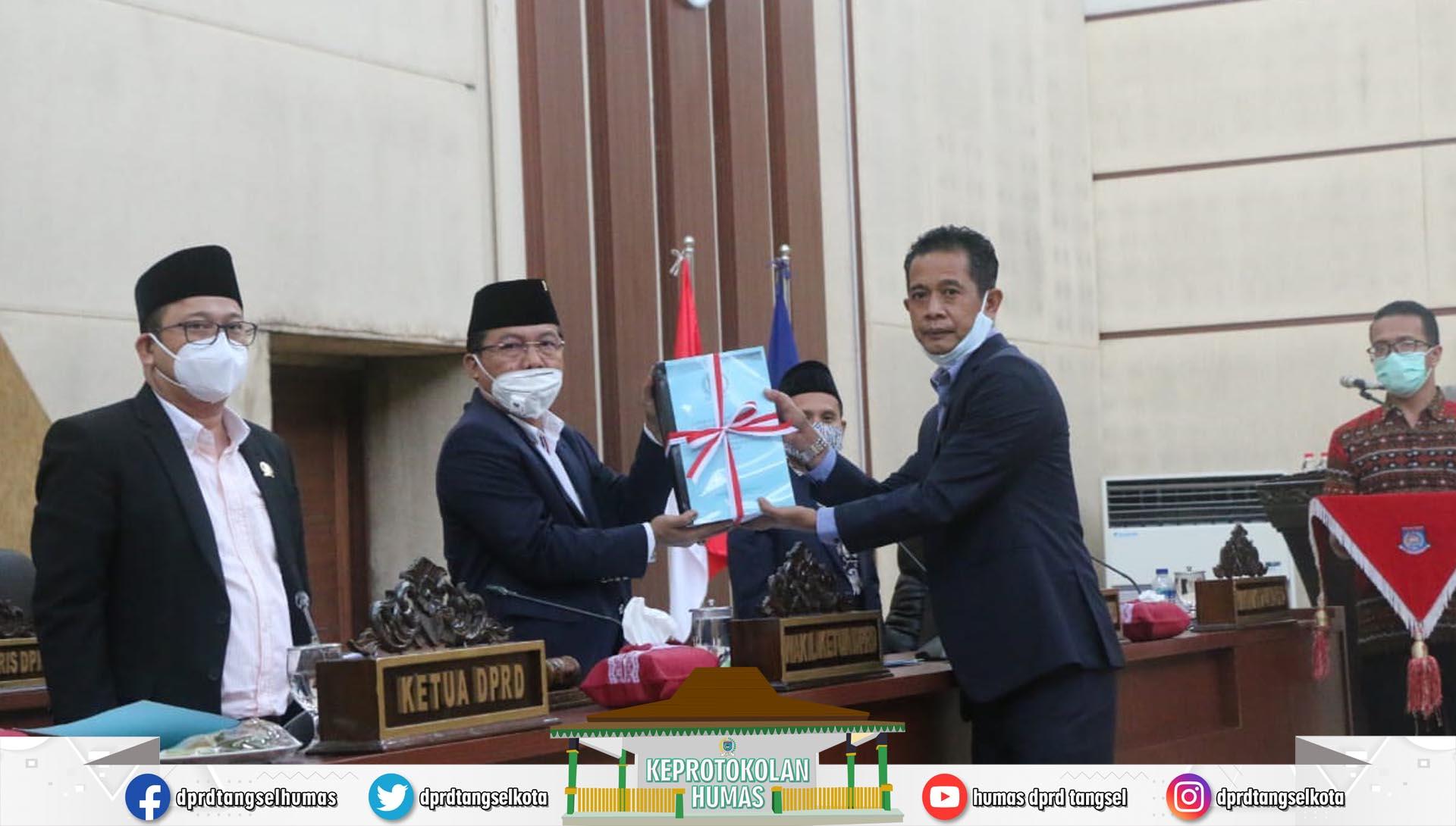 Paripurna persetujuan DPRD Pemindahtanganan Barang Milik Daerah