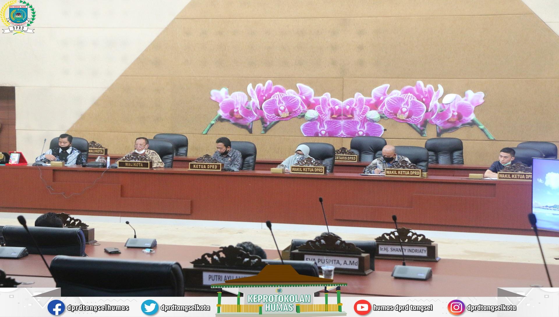 Komisi II DPRD Kota Tangsel Menerima Kunjungan dari 5 Kabupaten/ Kota