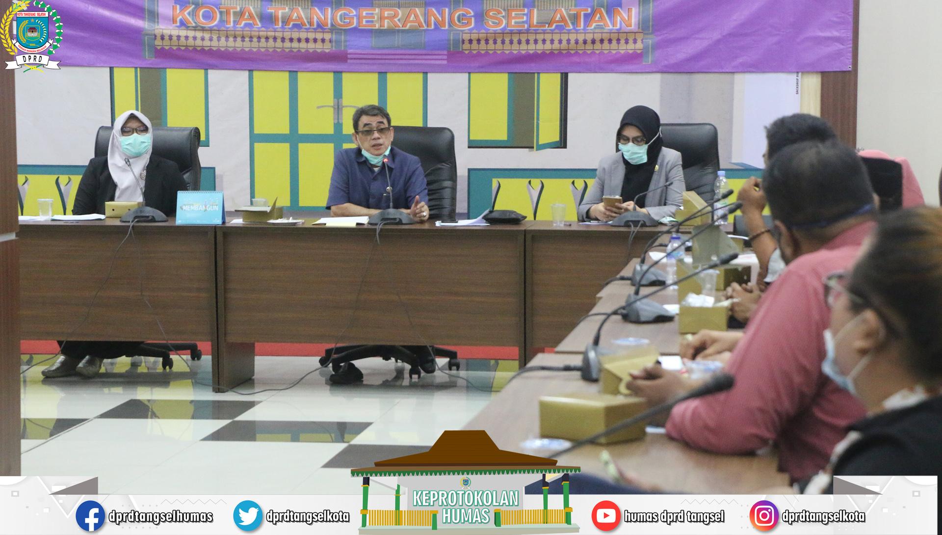 Penerimaan Audiensi dari FKPS Kota Tangerang Selatan