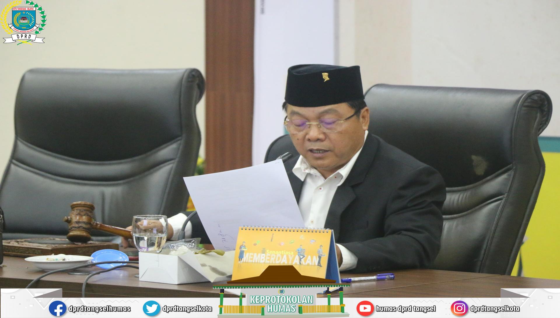 Banmus gelar Rapat dengan Agenda Penjadwalan Alat Kelengkapan DPRD