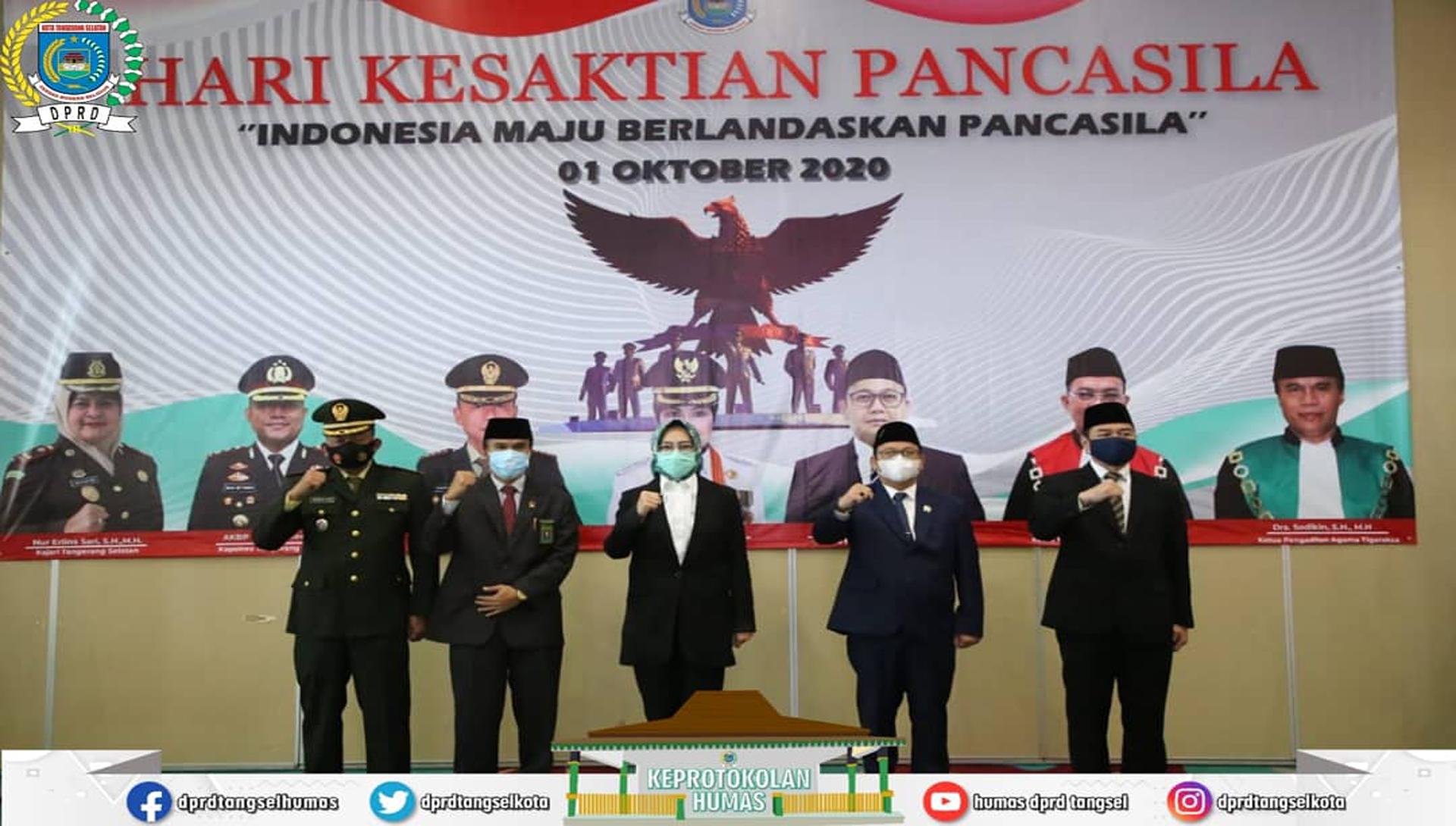 Ketua DPRD Tangsel Menghadiri Upacara Hari Kesaktian Pancasila