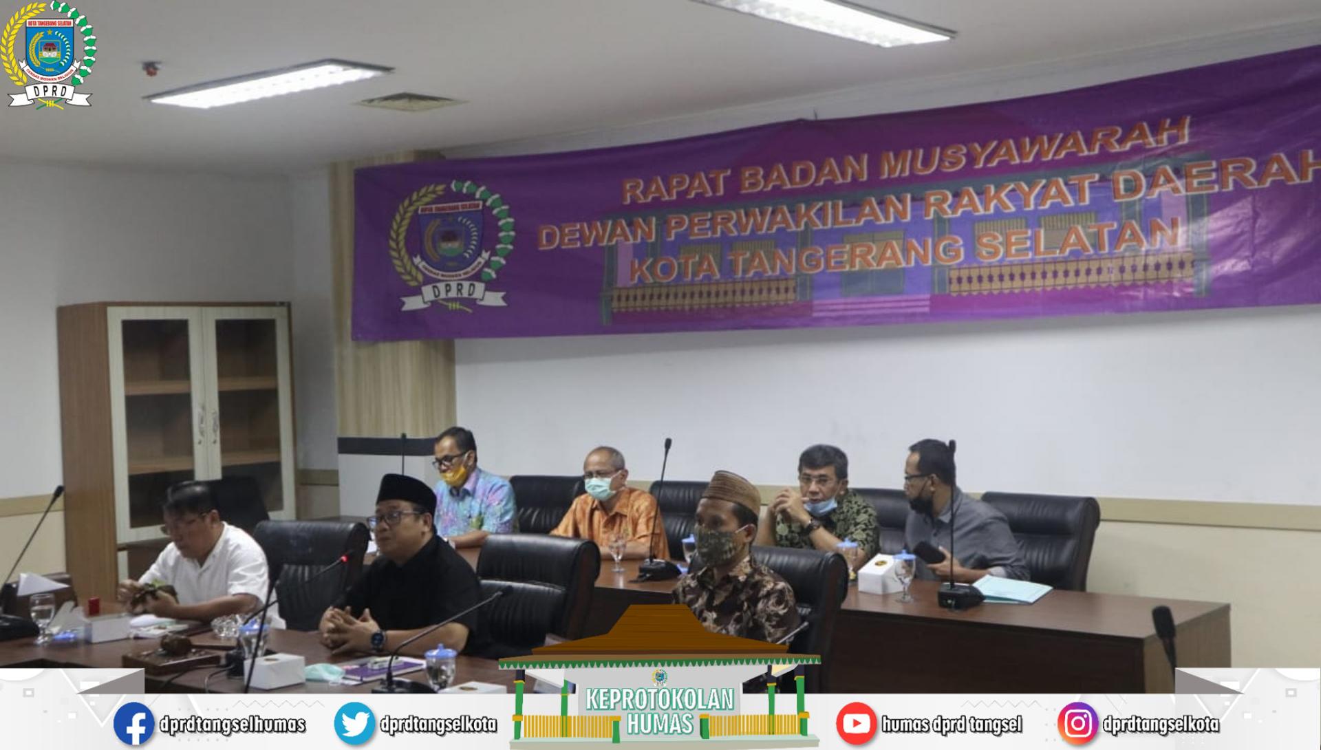 Badan Musyawarah Gelar Rapat Penjadwalan Alat Kelengkapan Dewan