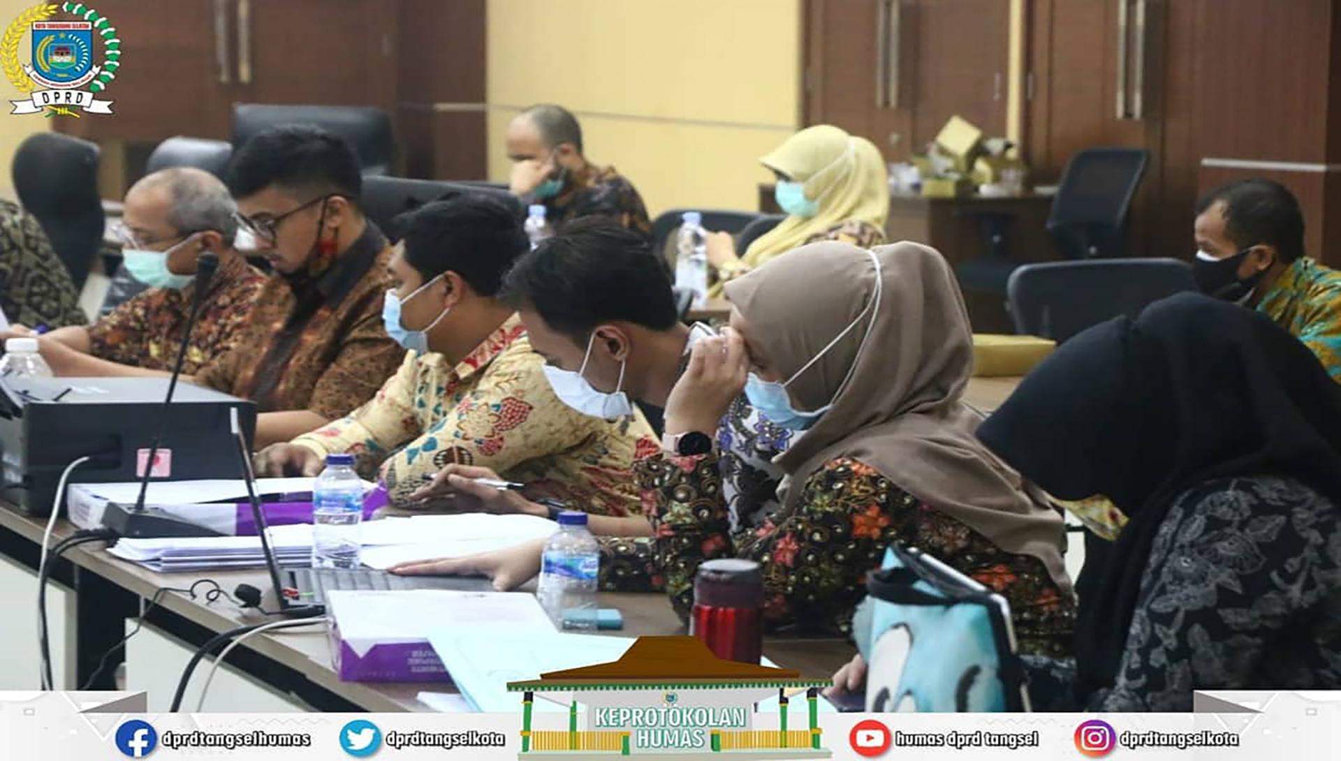 Rapat Badan Anggaran dgn TAPD Pembahasan Finalisasi KUA/PPAS TA. 2021