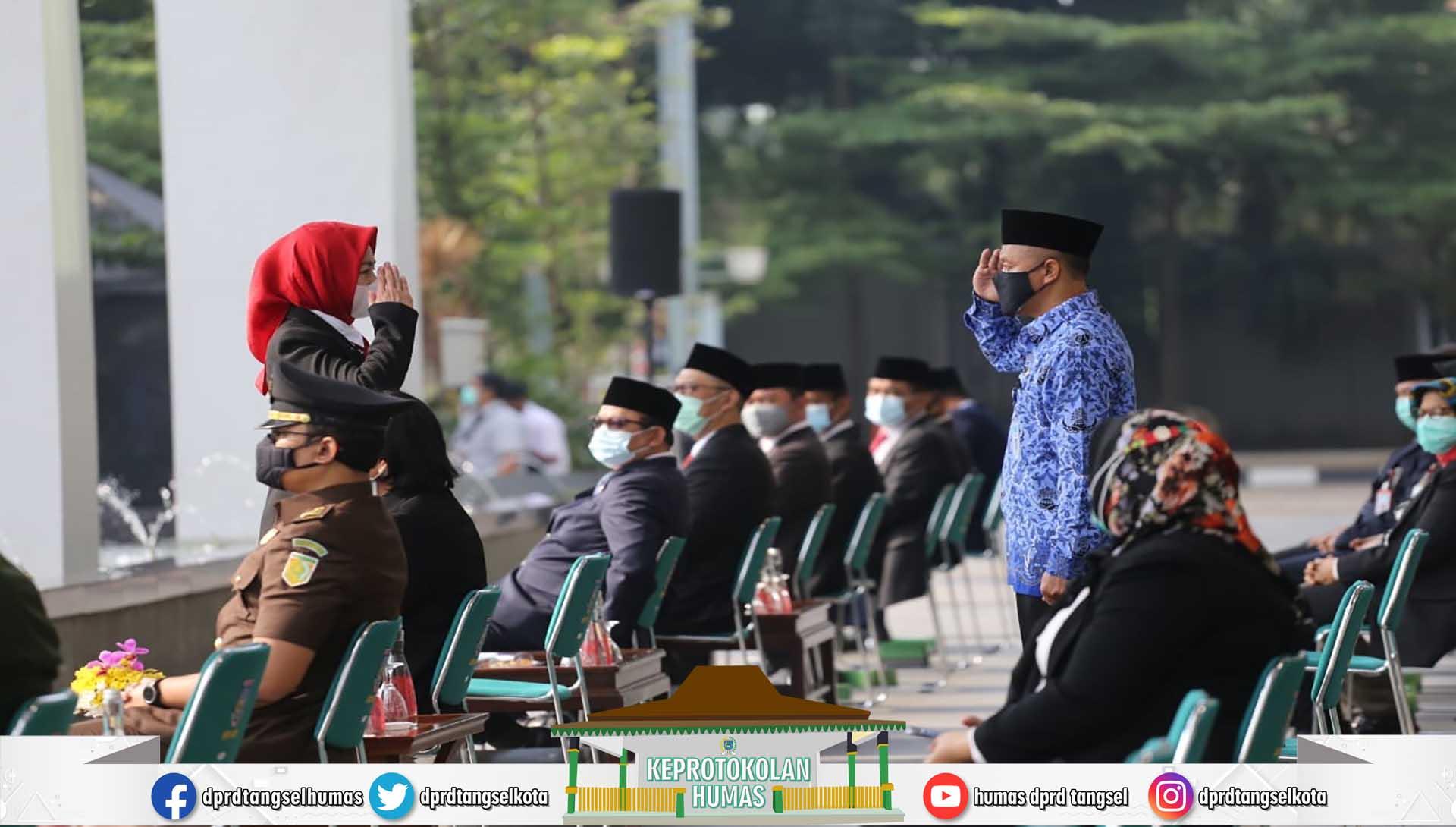Ketua DPRD menghadiri Upacara Peringatan Hari Pahlawan