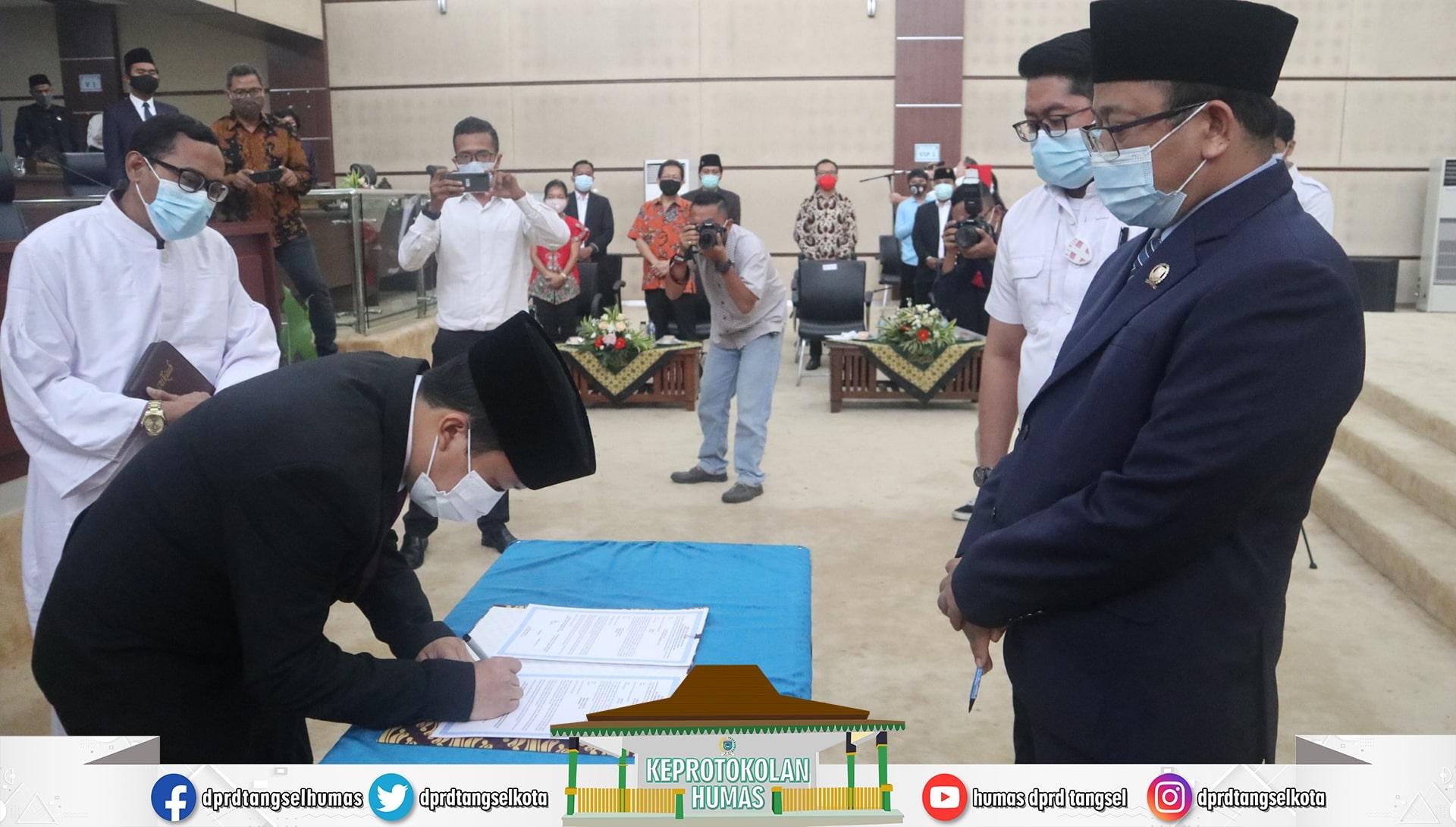 DPRD Tangsel gelar Rapat Paripurna PAW Fraksi PSI