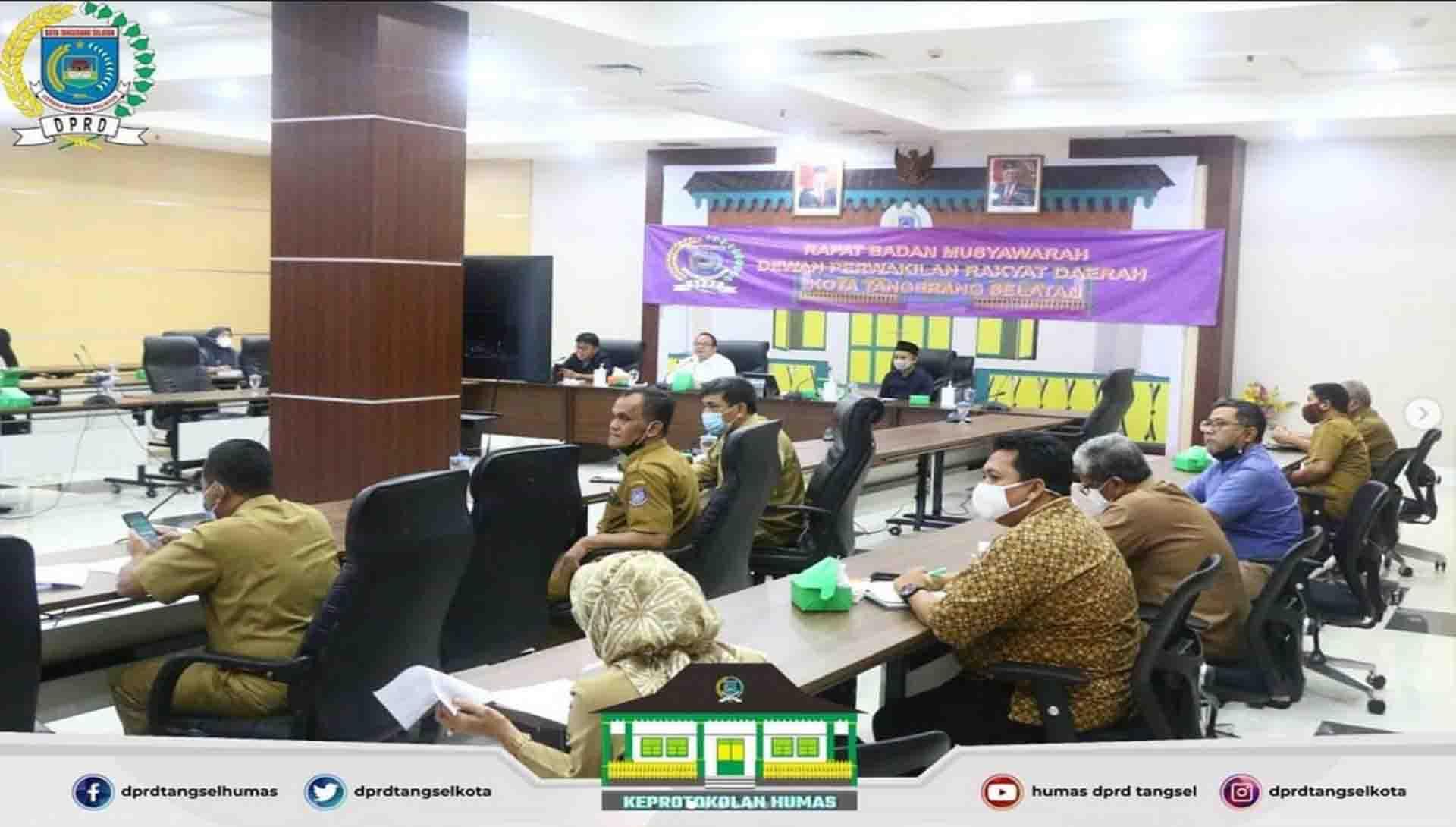 Rapat Banmus dengan Agenda Penjadwalan Kegiatan Alat Kelengkapan DPRD