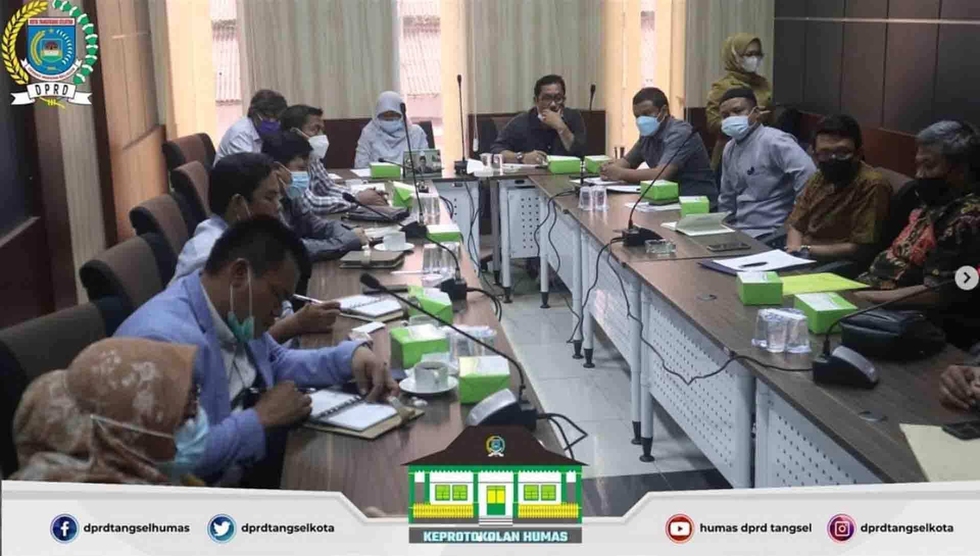 Rapat Dengar Pendapat Komisi IV  terkait Banjir dan Longsor di Ciputat