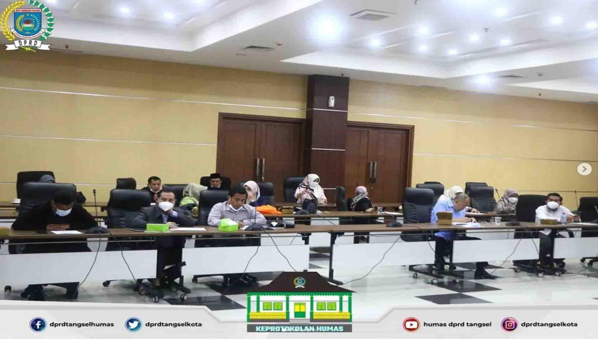 Rapat Badan Musyawarah dengan Agenda Penjadwalan Kegiatan AKD