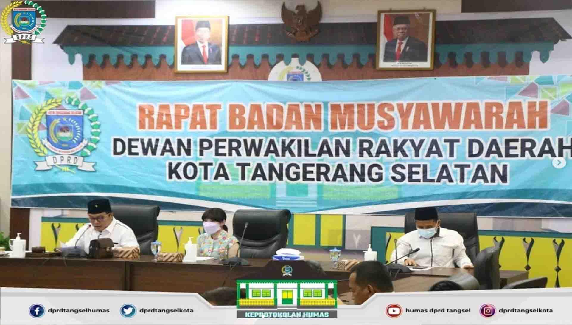 Badan Musyawarah Gelar Rapat Dengan 3 (tiga) Agenda