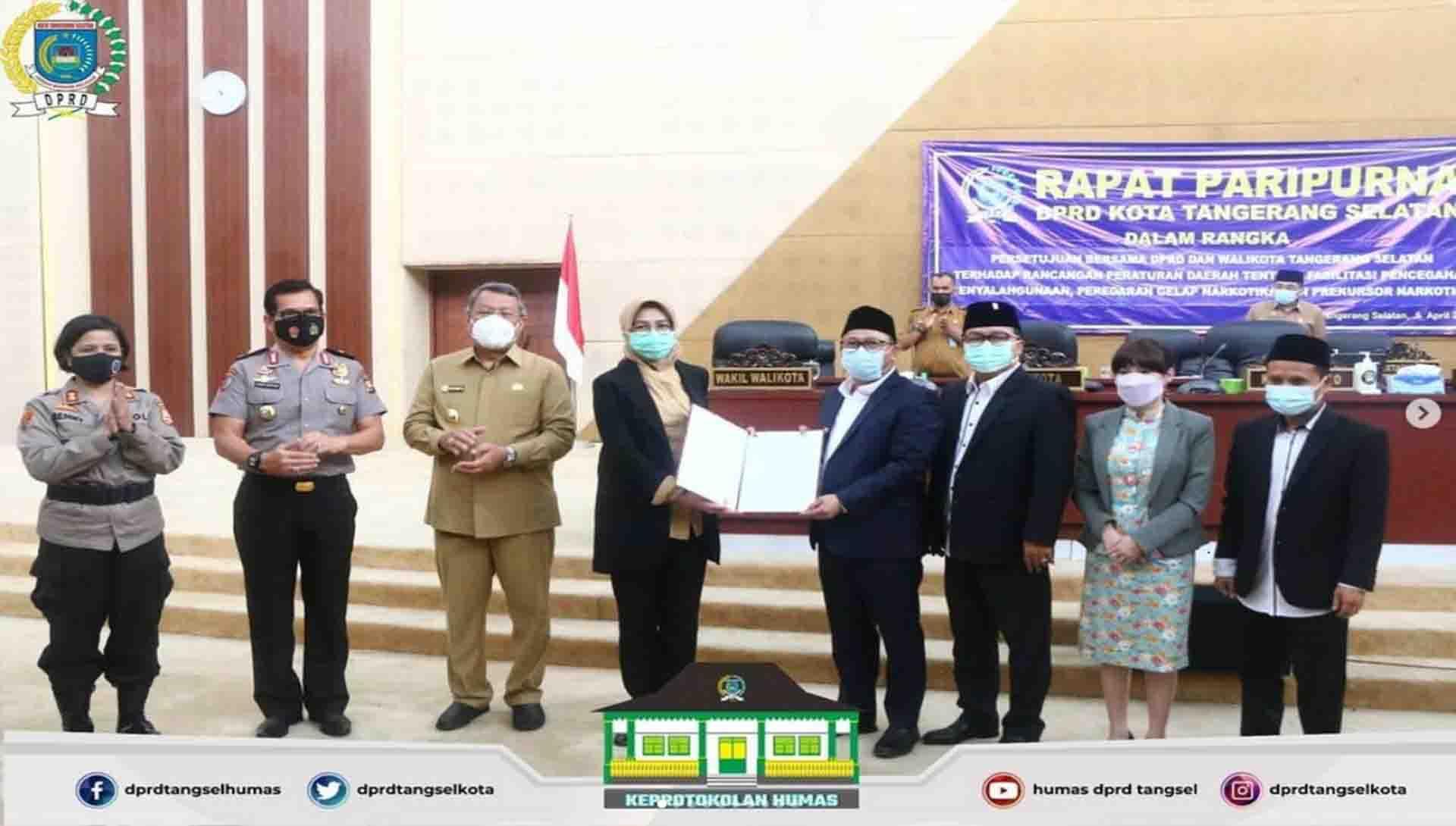 DPRD Kota Tangerang Selatan menggelar 3 (Tiga) Agenda Rapat Paripurna