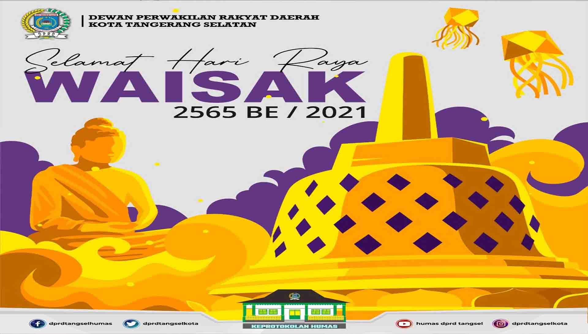 Selamat Hari Raya Waisak 2565 BE / 2021