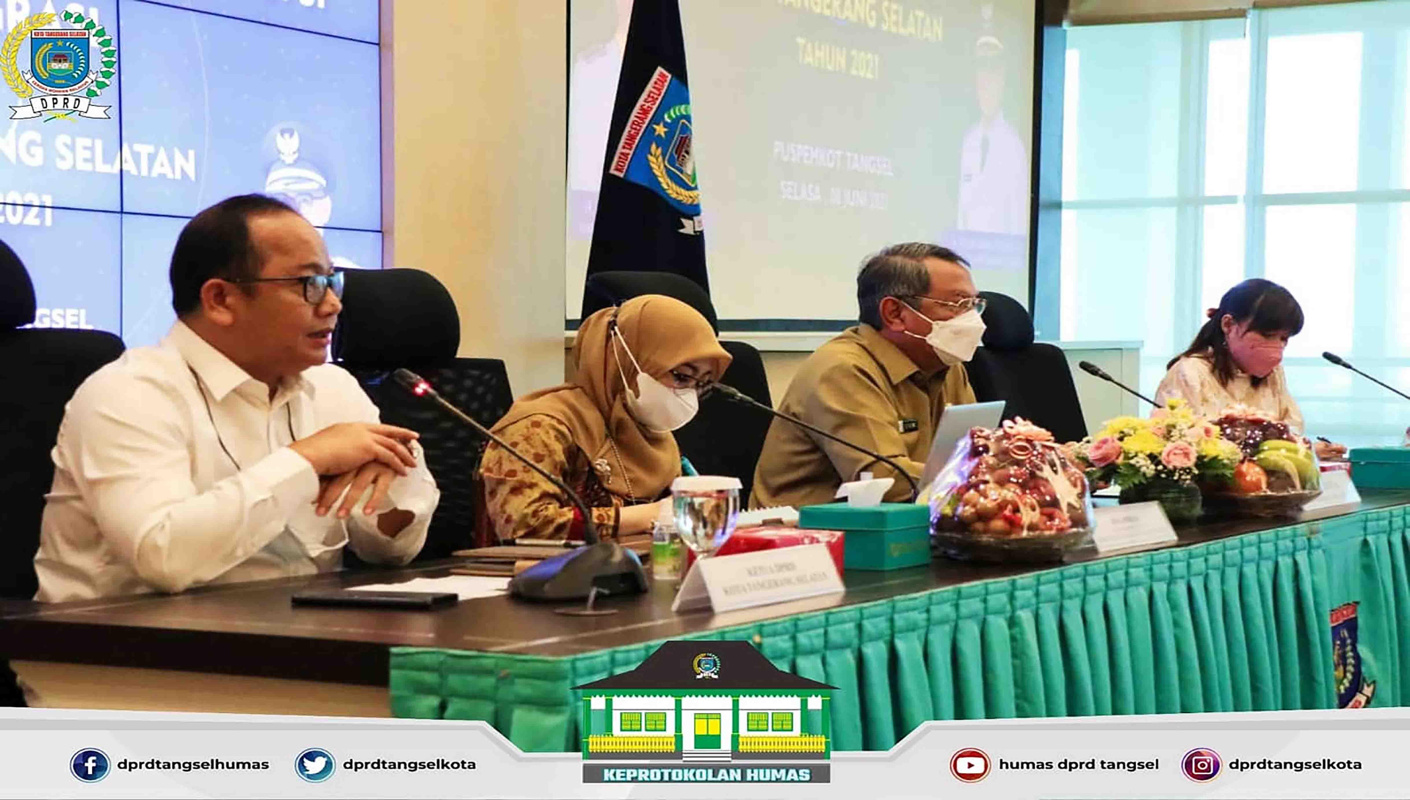 Pimpinan DPRD menghadiri Rapat Koordinasi Pemberantasan Korupsi