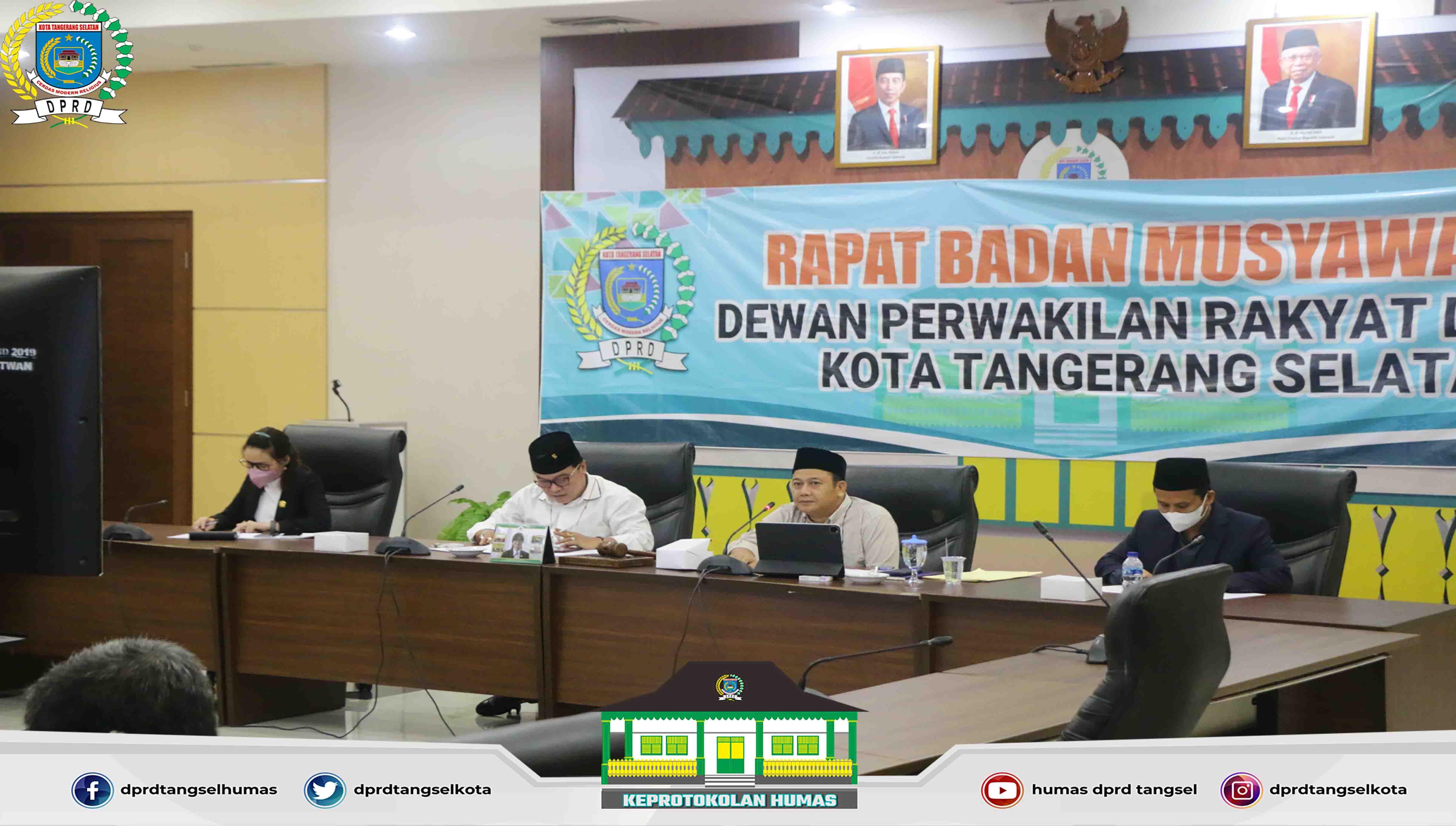 Badan Musyawarah Gelar Rapat Perihal Penjadwalan Alat Kelengkapan DPRD