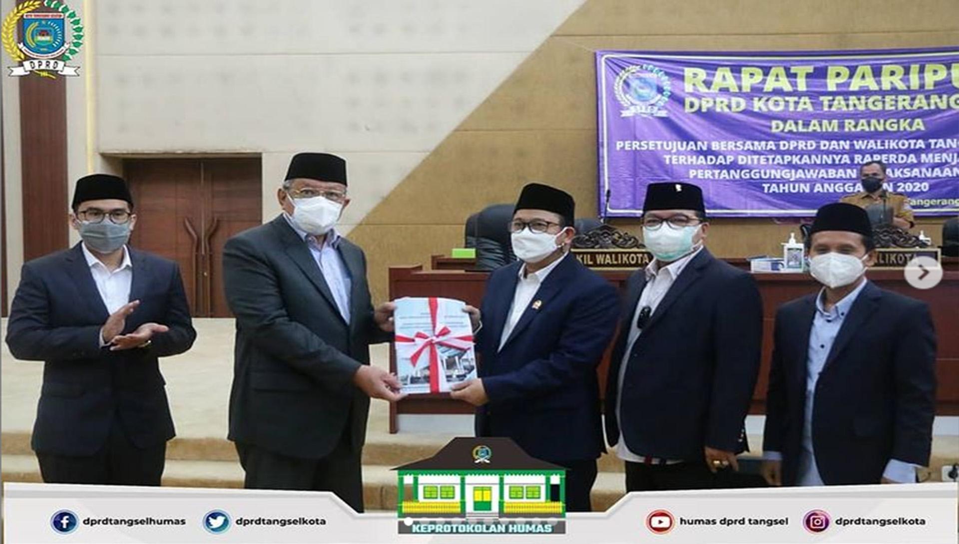 DPRD Kota Tangerang Selatan menggelar 3 (tiga ) Agenda Rapat Paripurna