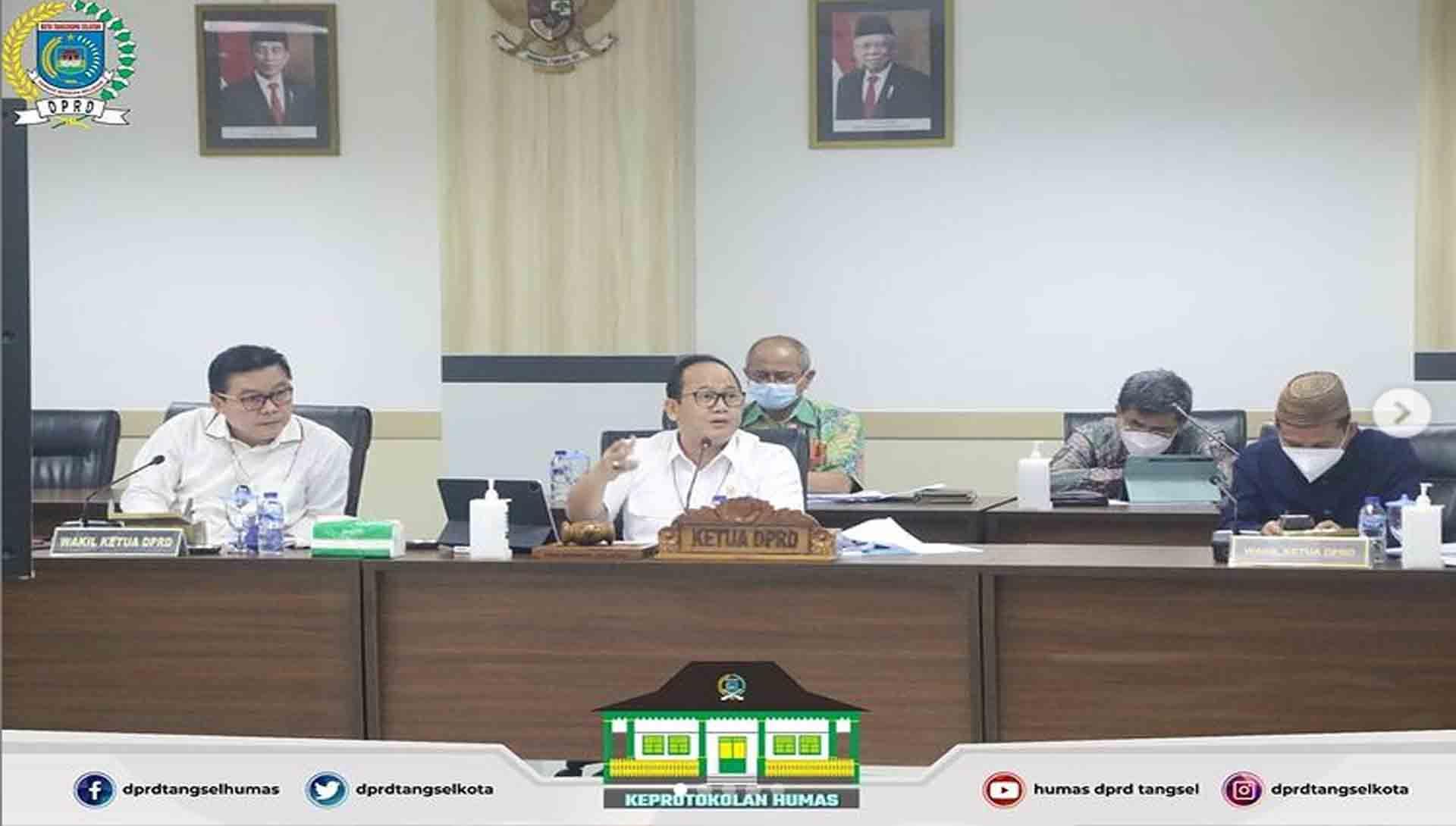 Rapat Badan Anggaran terkait Finalisasi KUA PPAS Tahun 2022