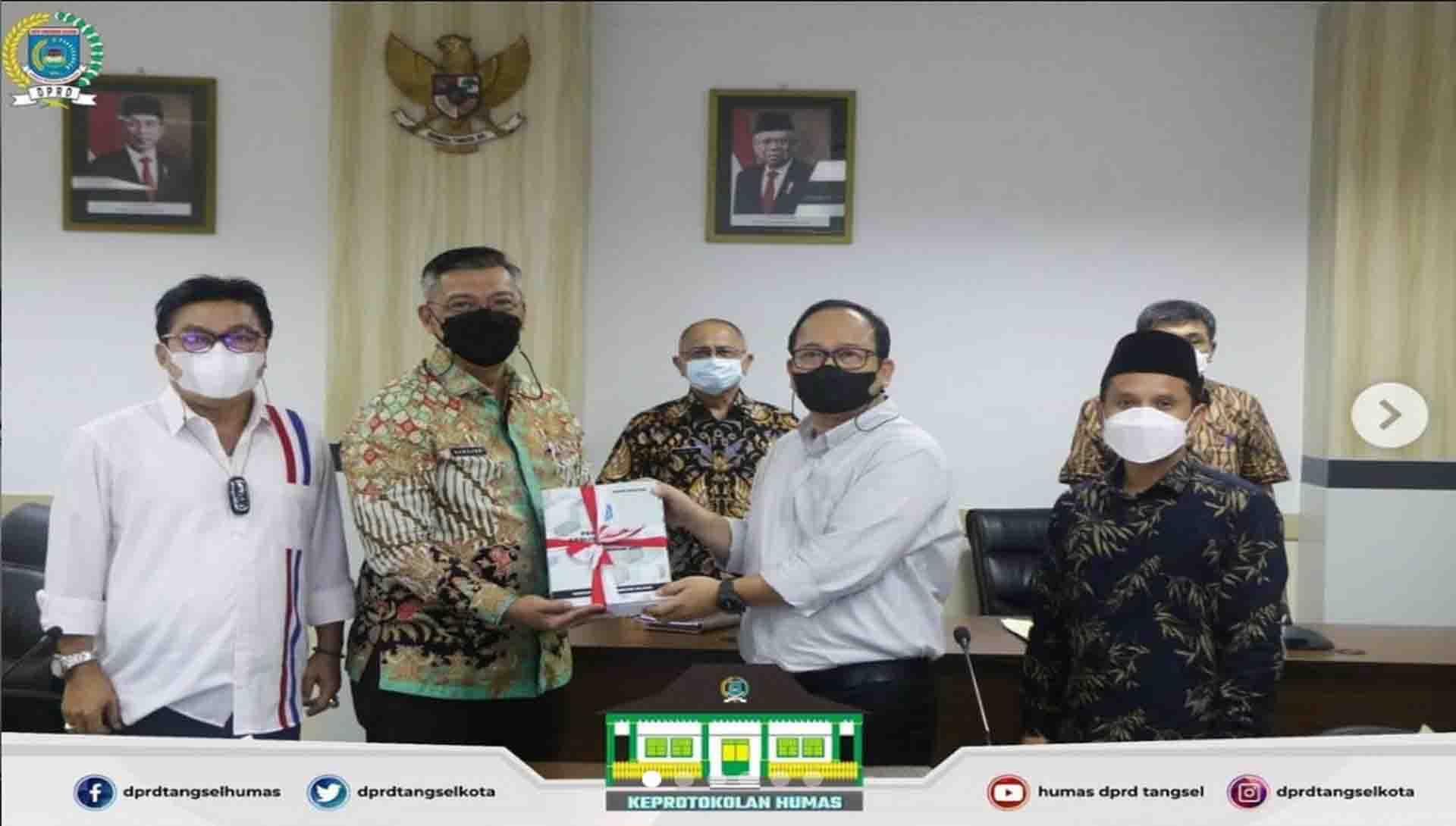 Badan Musyawarah DPRD Tangsel Gelar 2 (dua) Agenda Rapat
