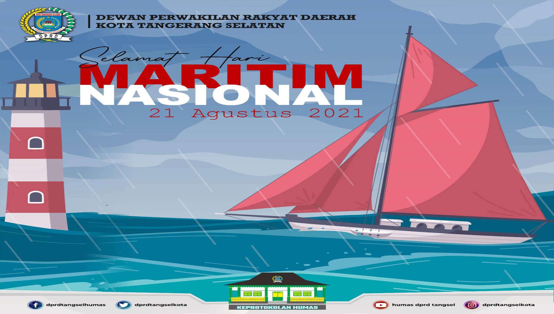 Selamat Memperingati Hari Maritim Nasional