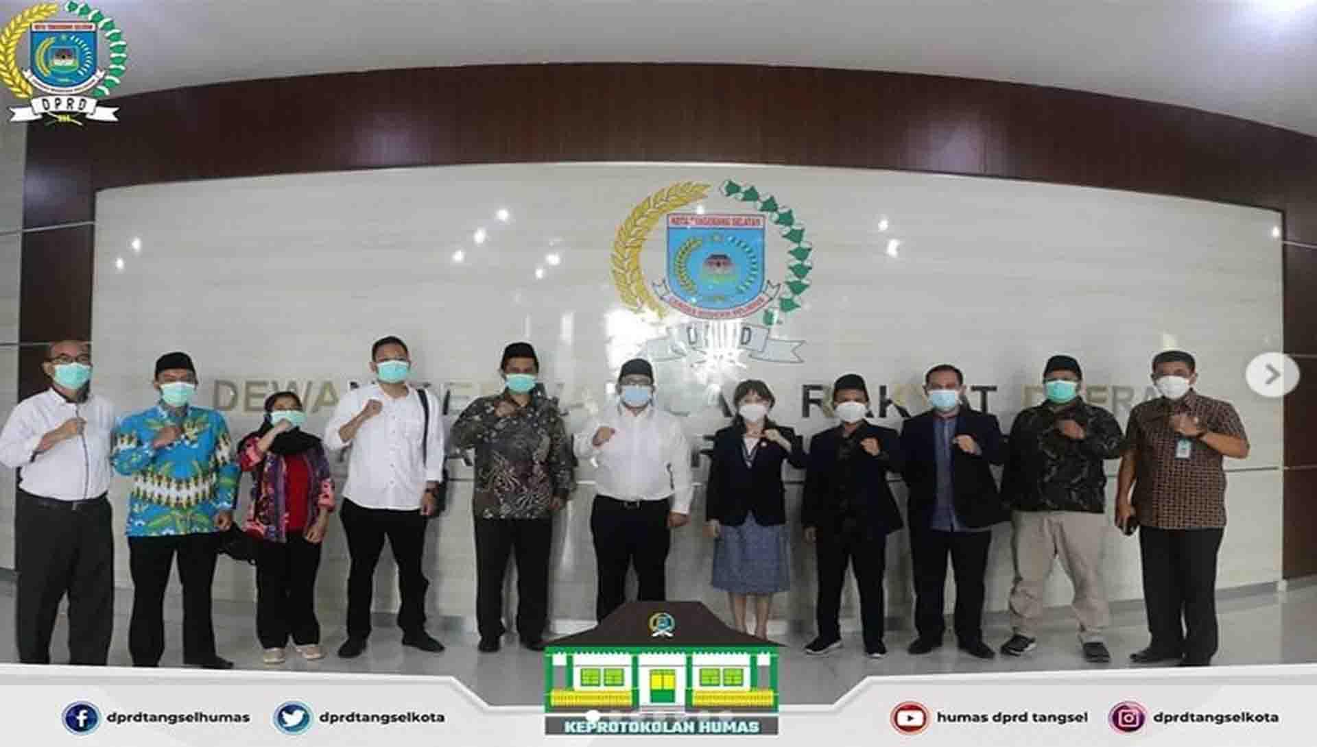 Penerimaan Audiensi dari KPU Kota Tangerang Selatan