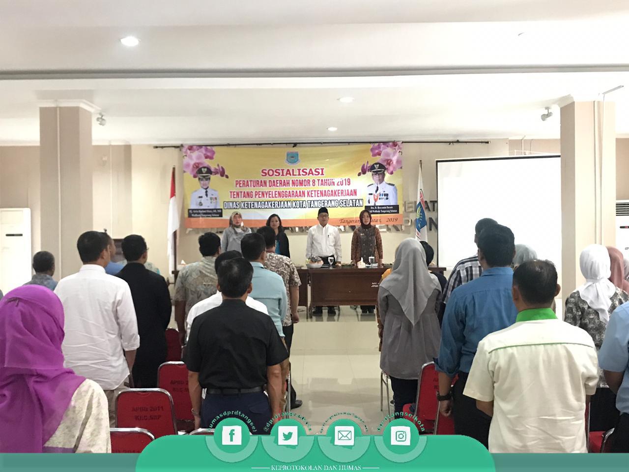 Sosialisasi Perda oleh Perwakilan Pimpinan dan Anggota DPRD Tangsel