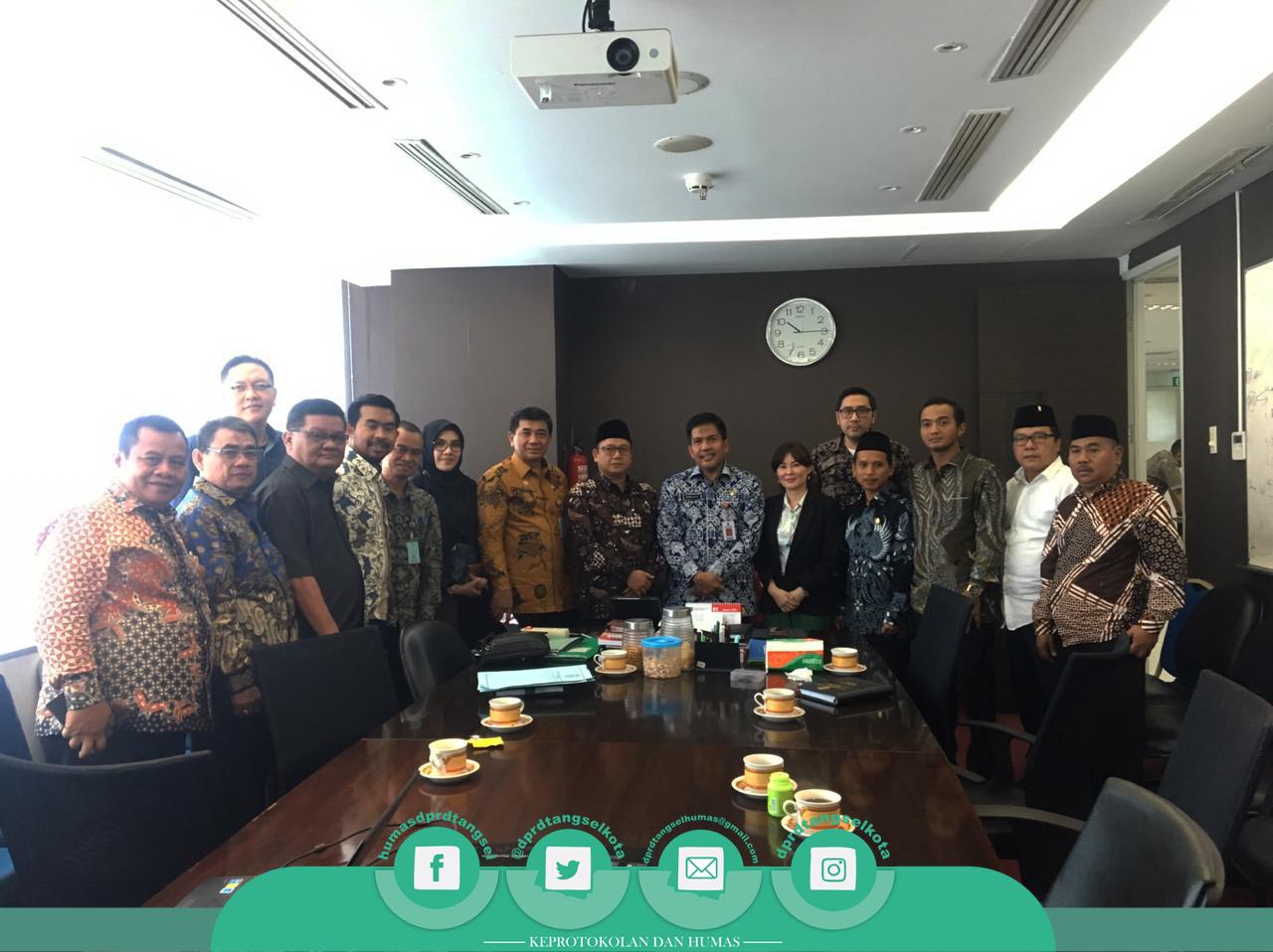 Badan Anggaran Konsultasi ke Dirjen Bina Keuangan Daerah Jakarta