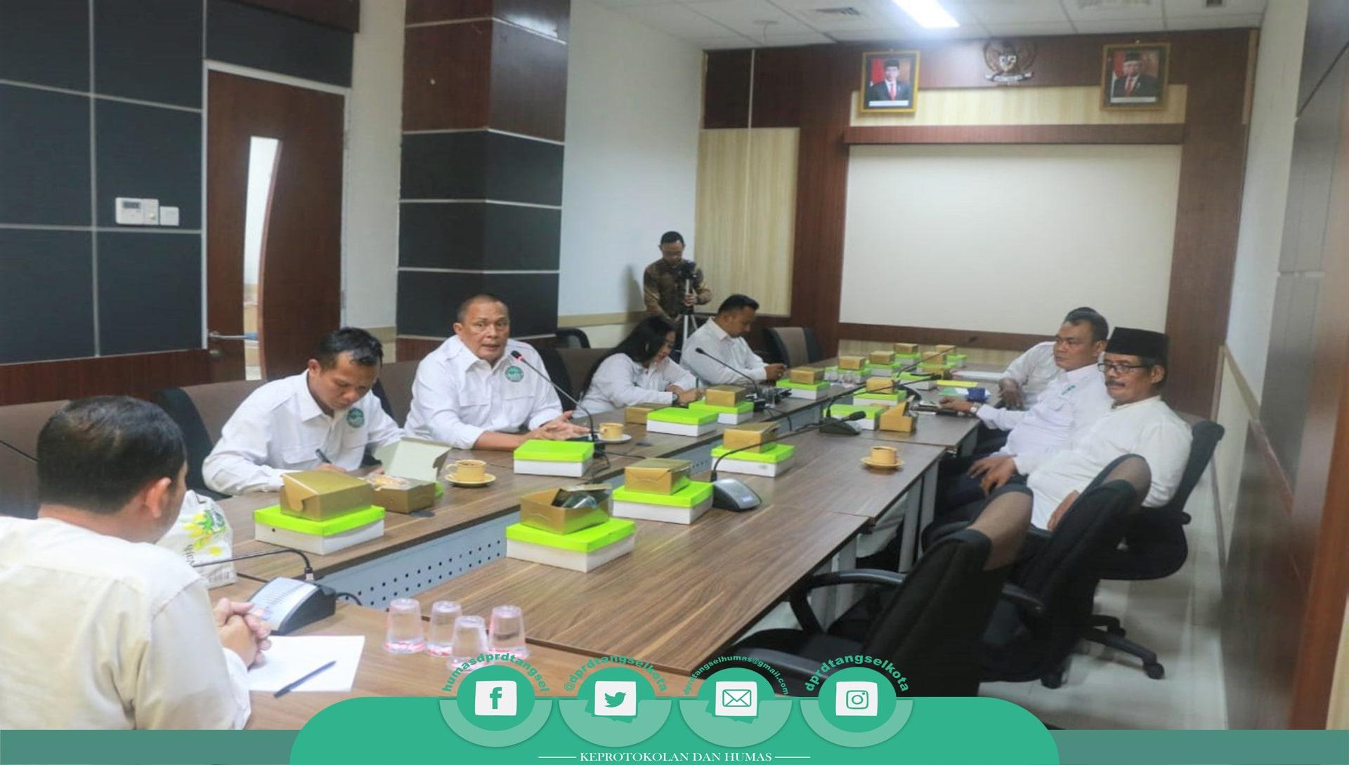 DPRD Kota Tangerang Selatan terima Audiensi dari FPK