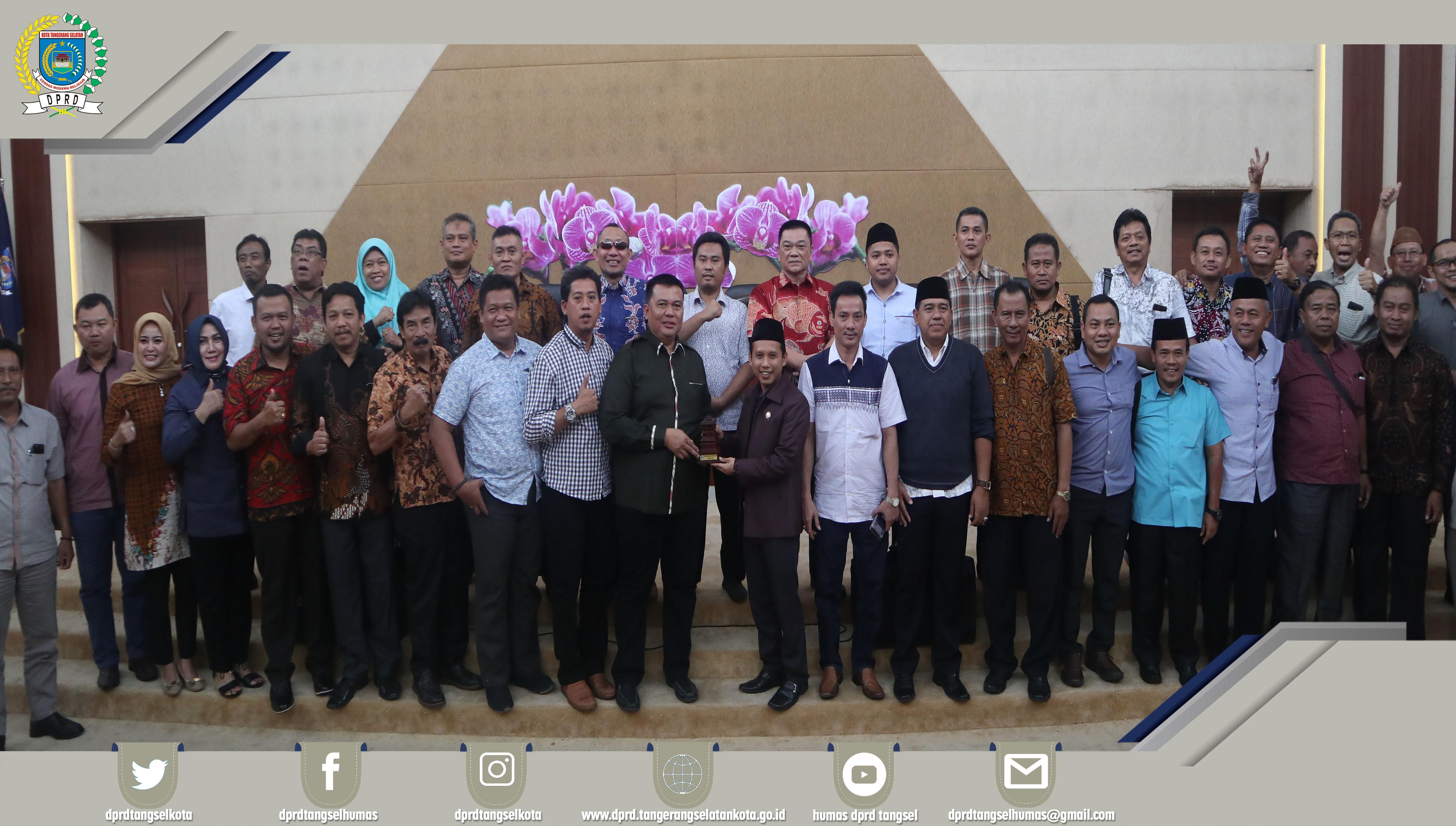 Wakil DPRD dan Ketua Komisi III Menerima Kunker 3 Daerah