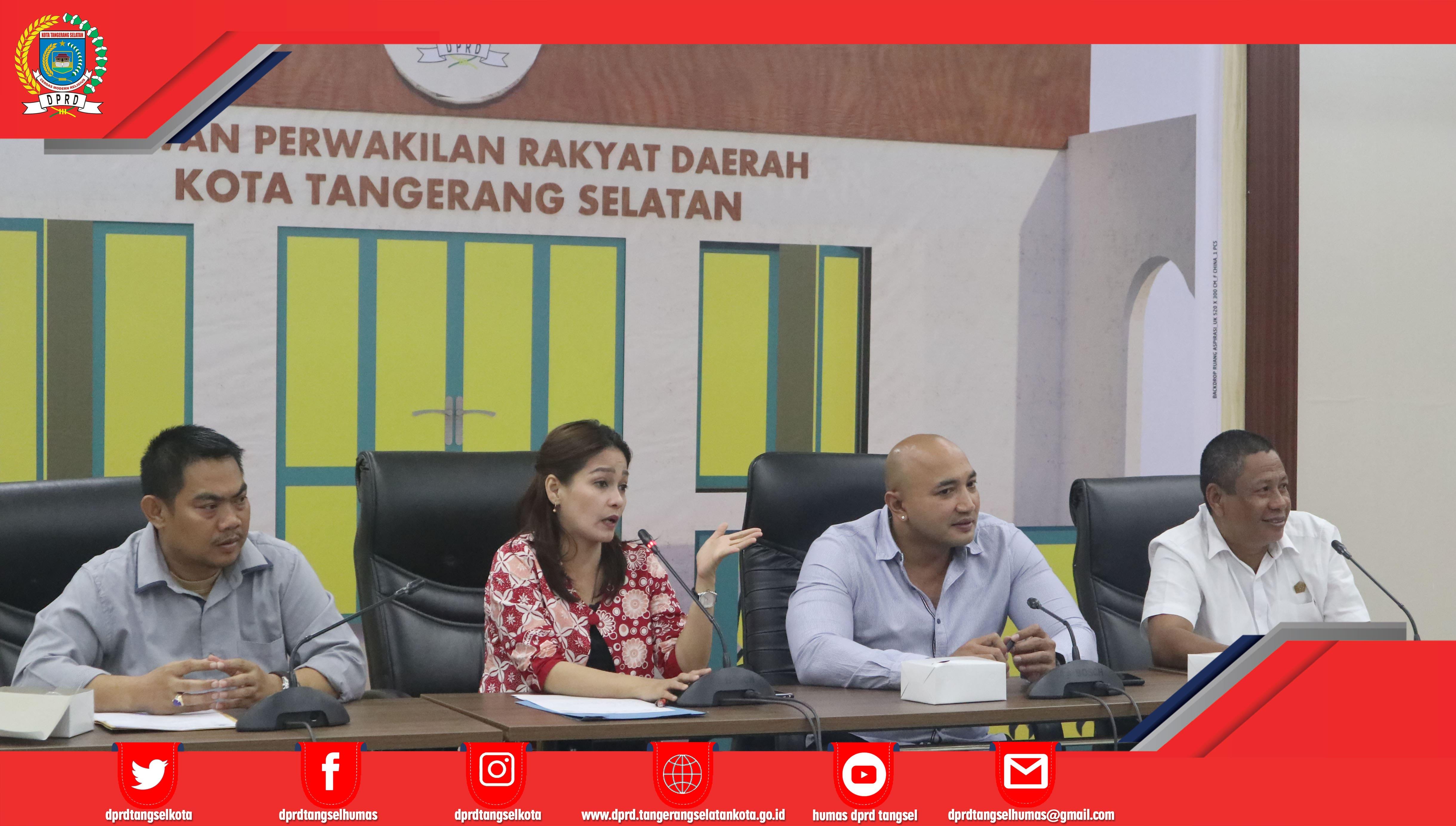 Ketua BK menerima Kunker DPRD Kota Denpasar dan DPRD Kab. Tangerang