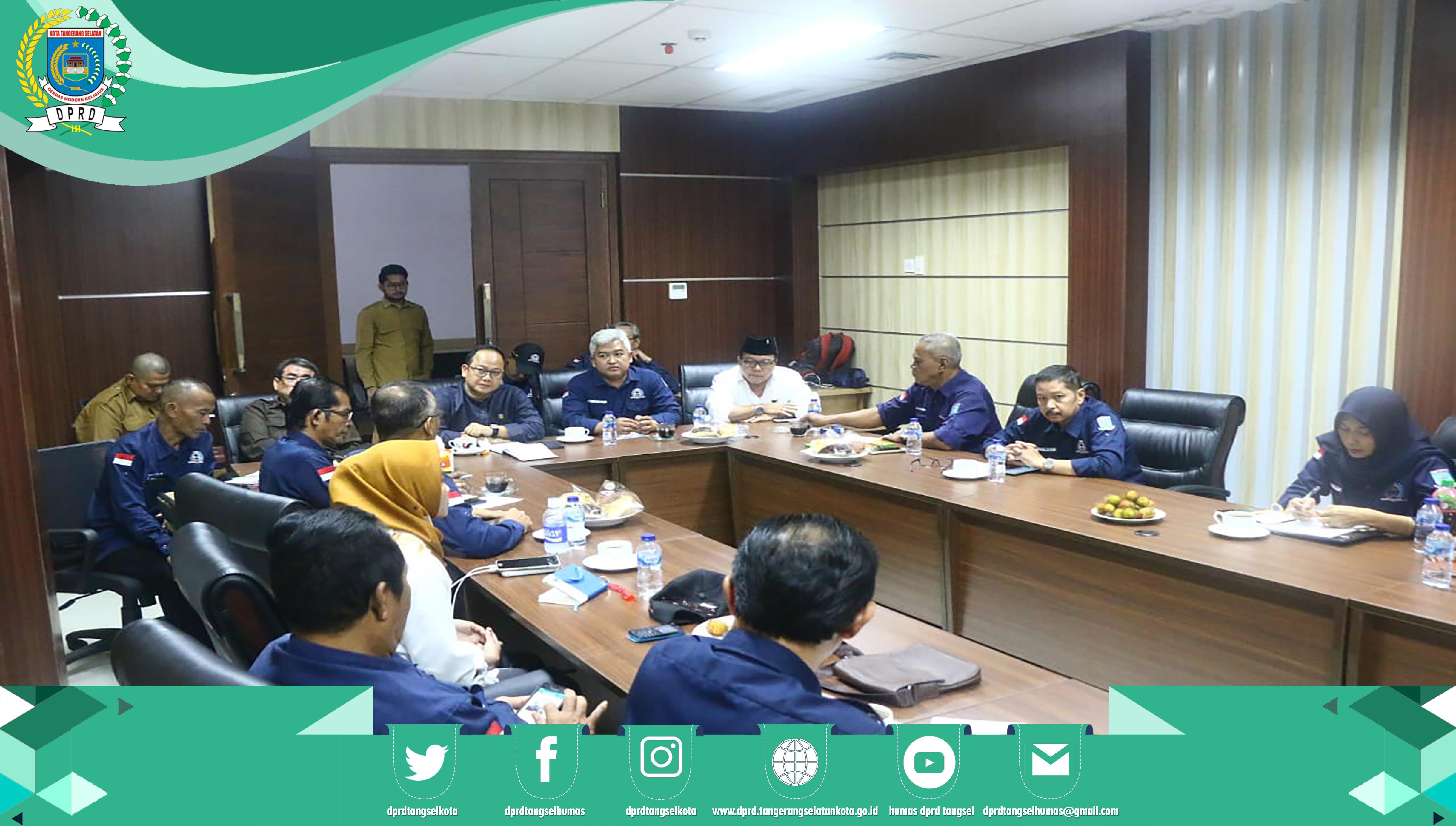 DPRD terima Audiensi DPD-LPM Kota Tangsel