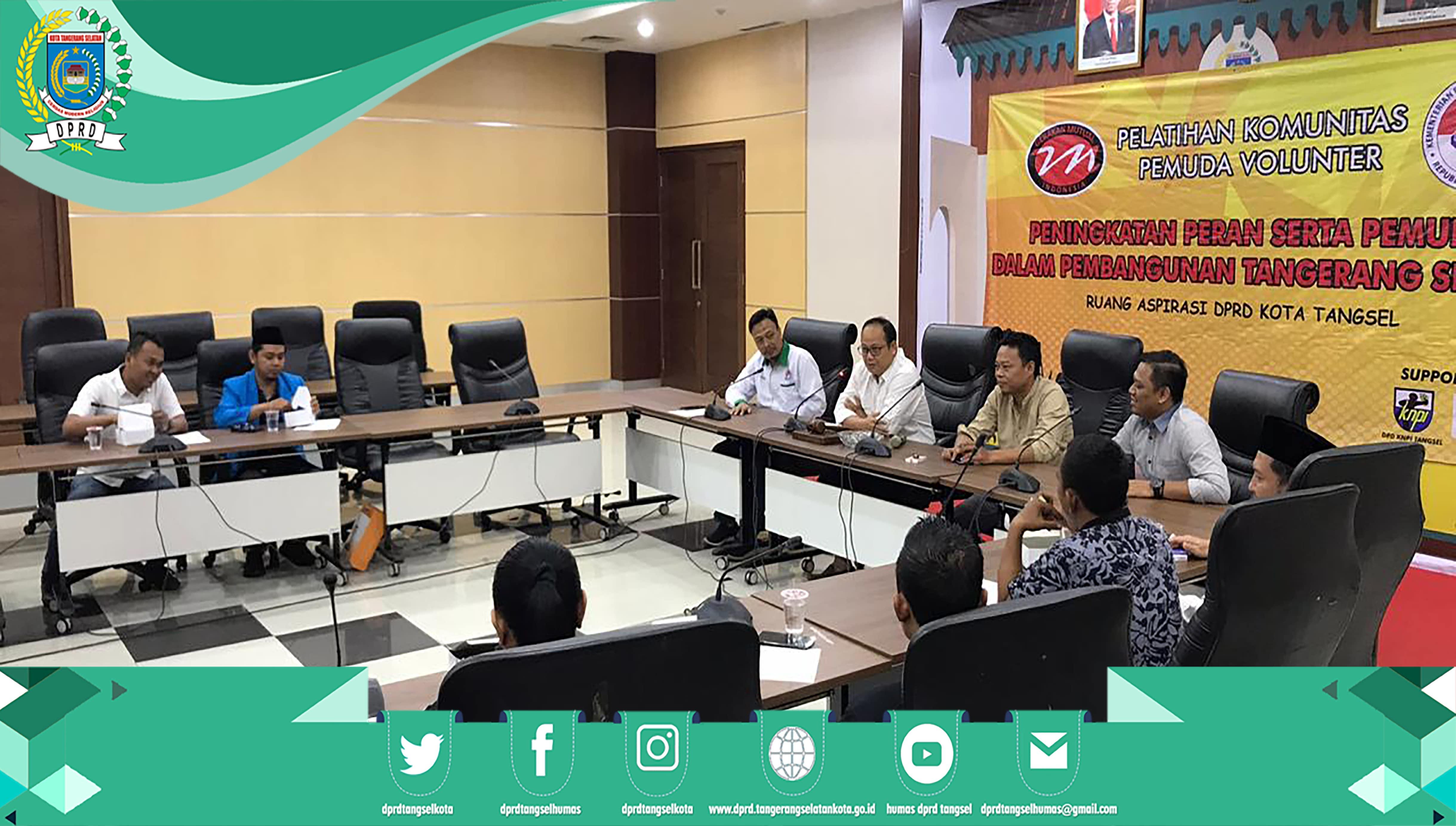 Ketua DPRD sebagai Narasumber acara Gerakan Mutual Indonesia