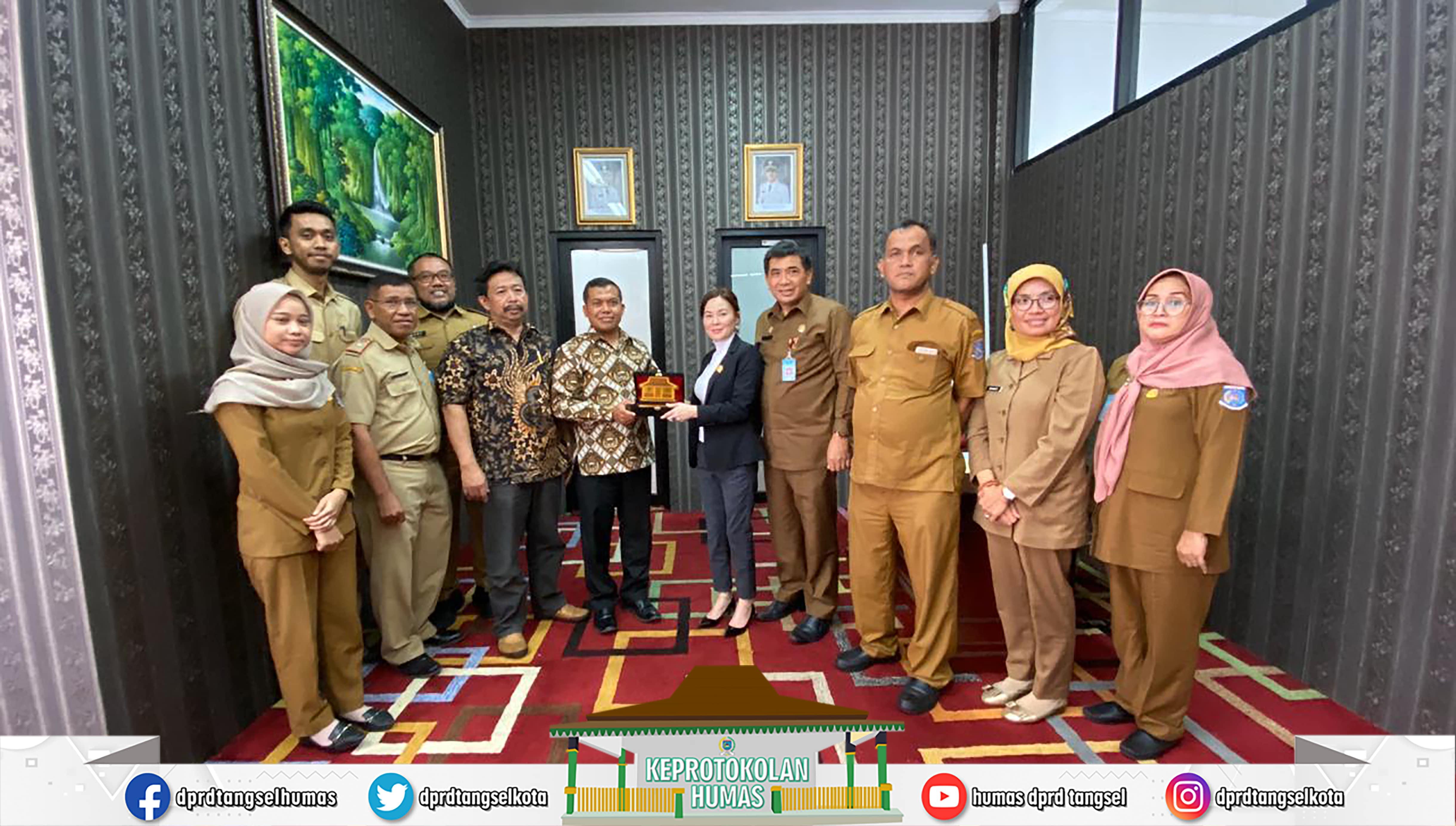 Wakil DPRD Li Claudia Chandra Konsultasi ke DPRD Kab. Bandung Barat