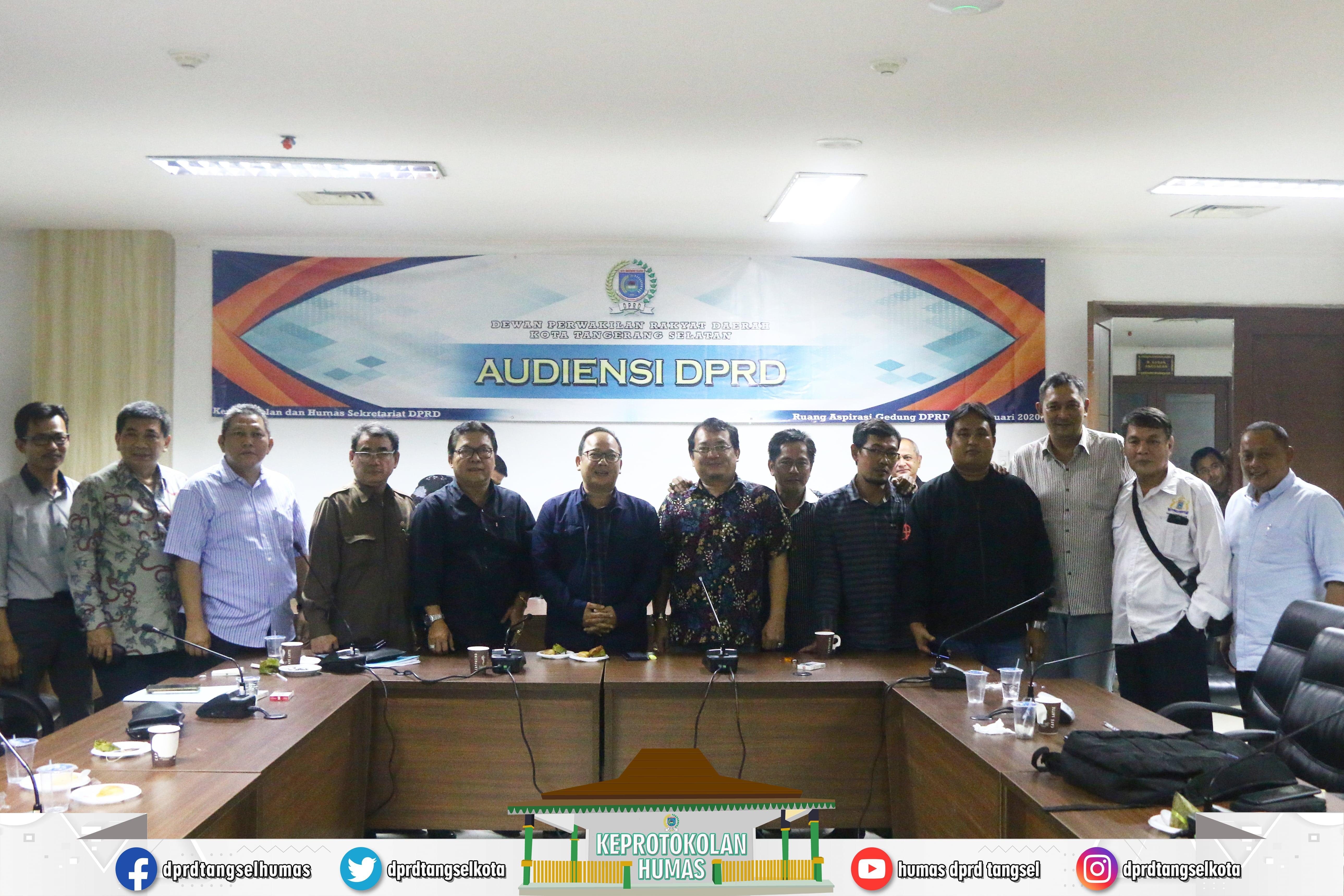Pimpinan dan Anggota DPRD Terima Audiensi P4TRA
