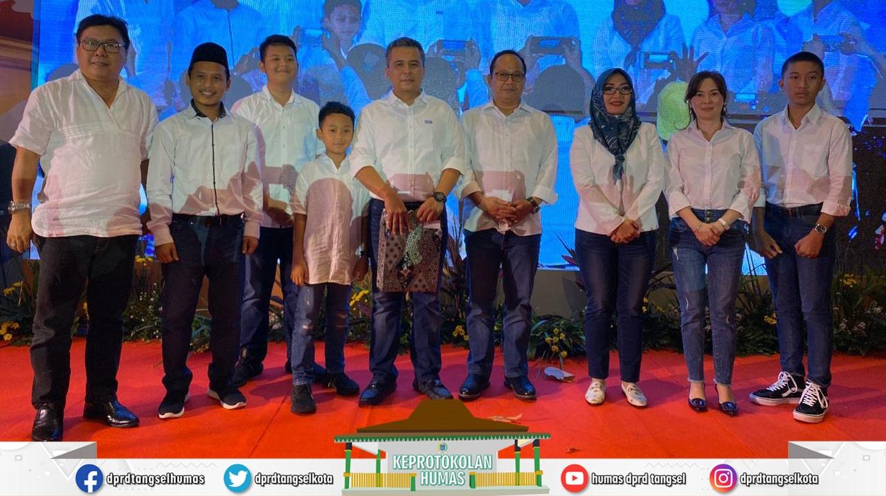 Pimpinan DPRD menghadiri Lepas Sambut Kapolres Tangsel