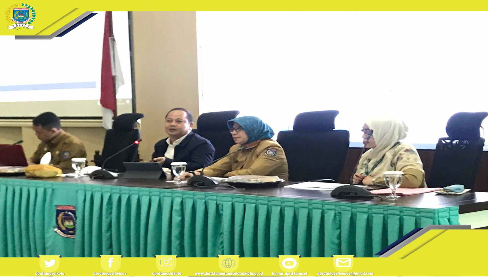 Ketua DPRD Kota Tangsel menjadi Narasumber pada Kegiatan DPMP3AKB