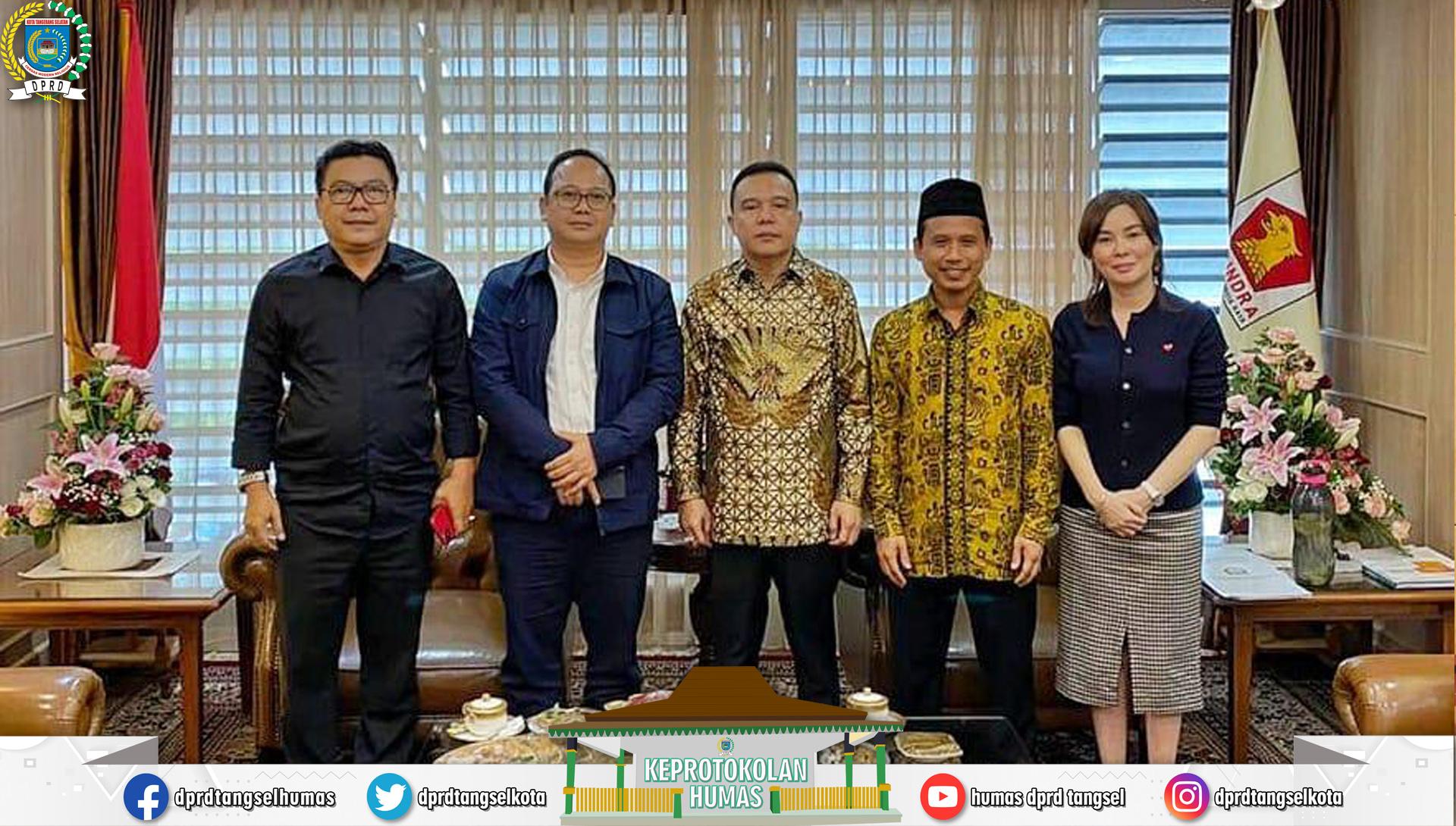 Pimpinan DPRD Tangsel Konsultasi ke DPR RI