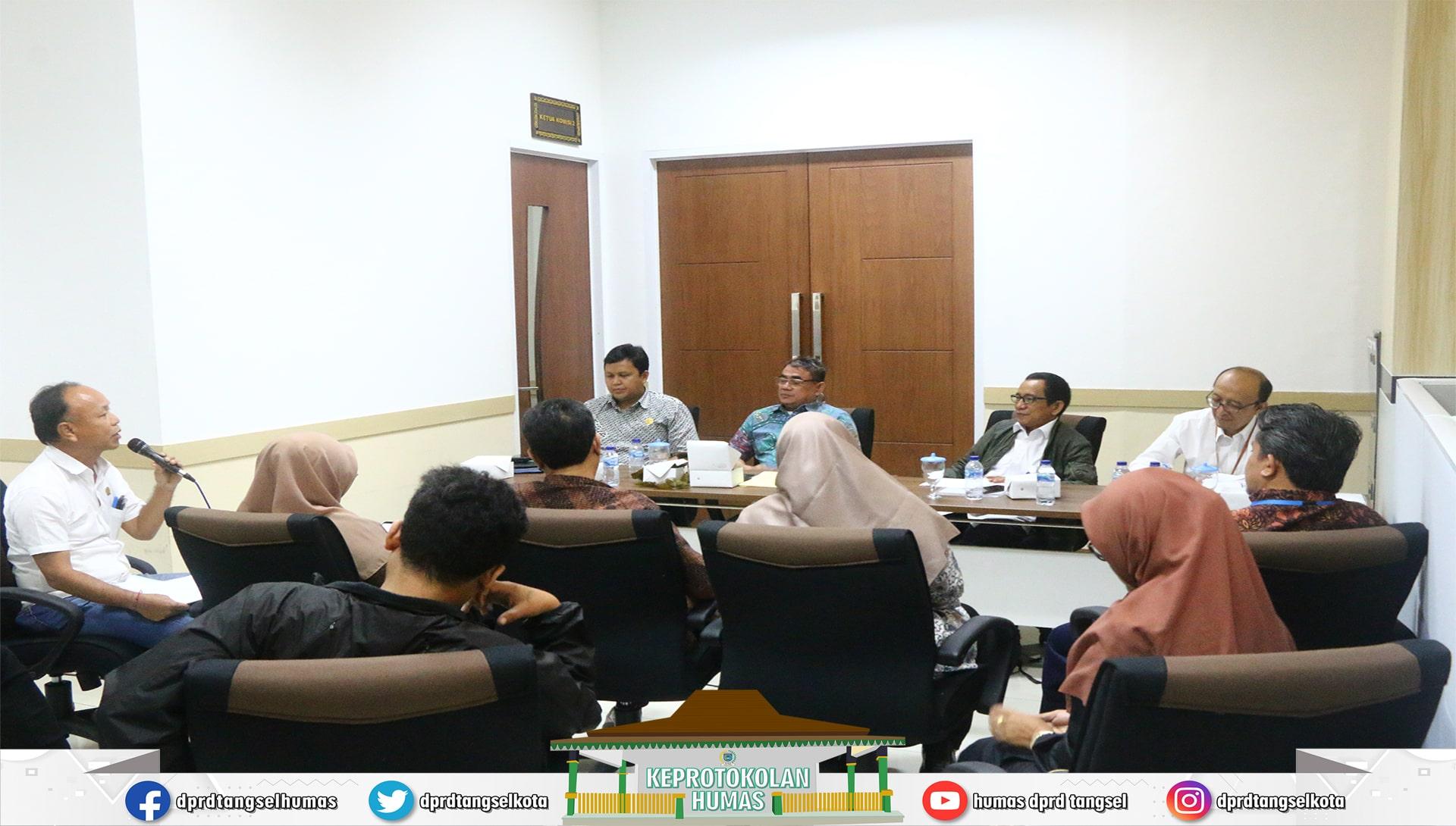 Komisi II DPRD Tangsel Sharing Informasi Penemuan Radioaktif Nuklir