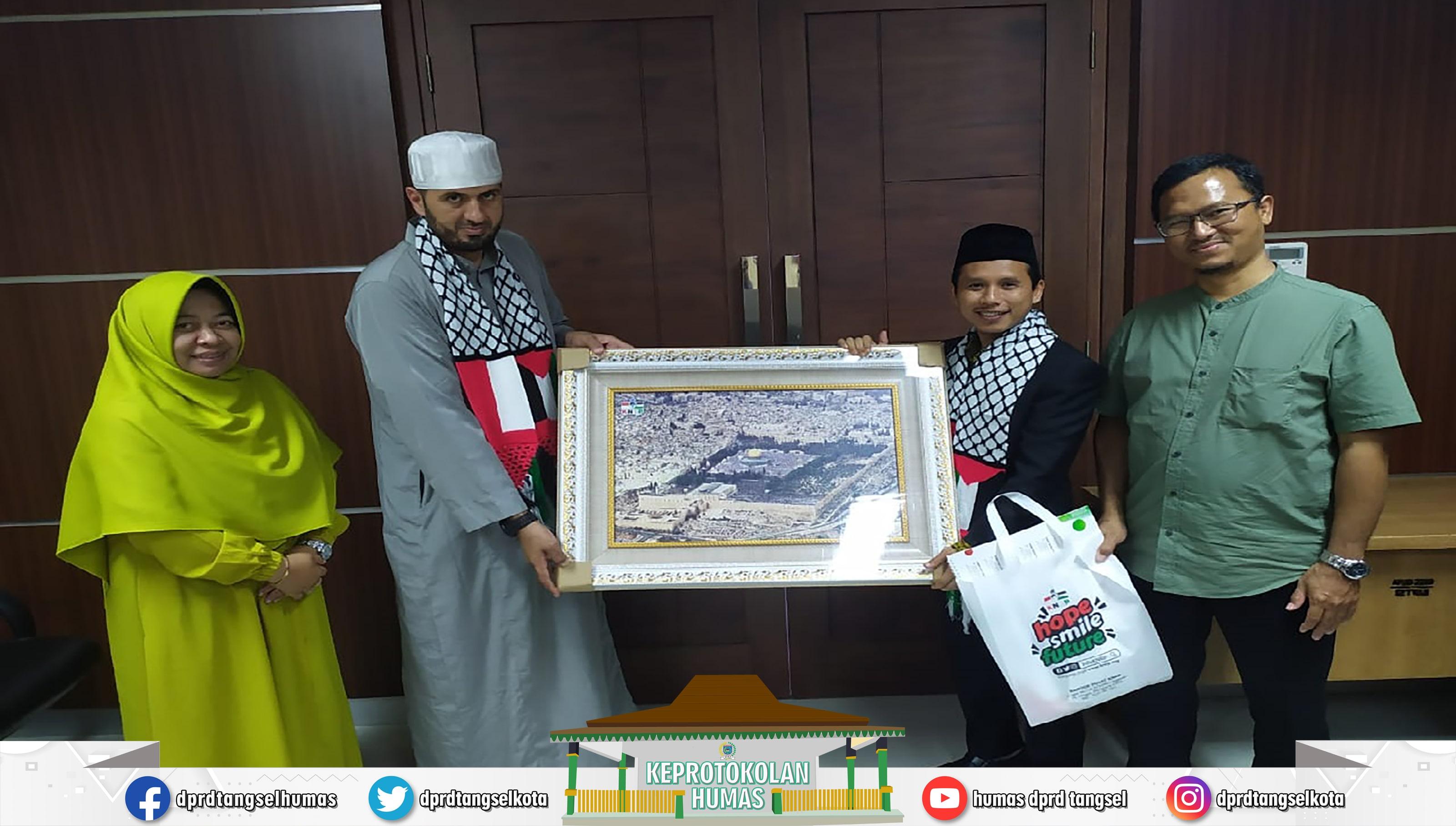 Mustopa Wakil Ketua DPRD Menerima Audiensi dari KNRP Banten