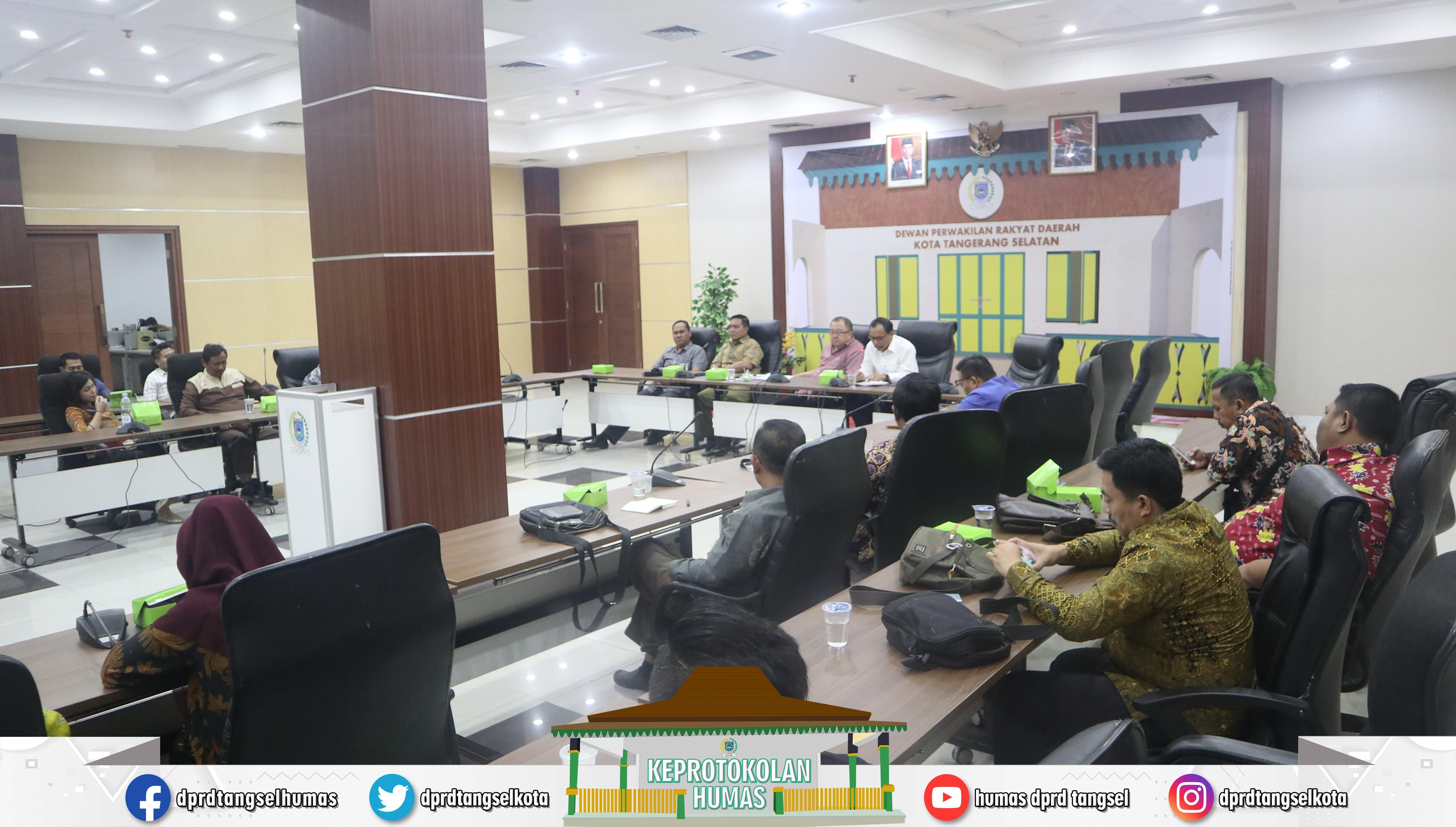 Rizki Jonis Menerima Kunjungan Kerja 3 DPRD daerah Kab/Kota